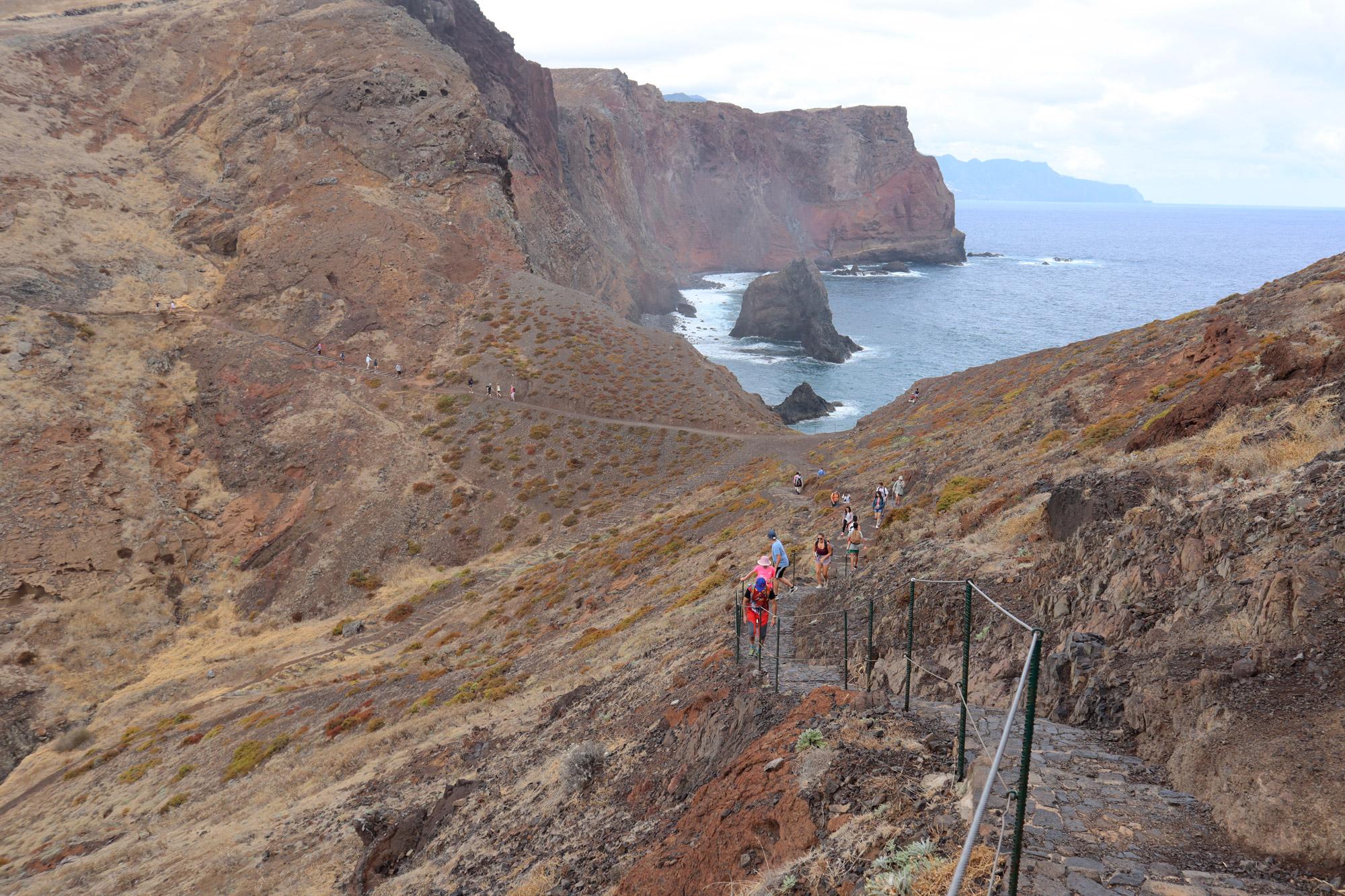 10x doen op Madeira - bezoek het oostelijke punt São Lourenco