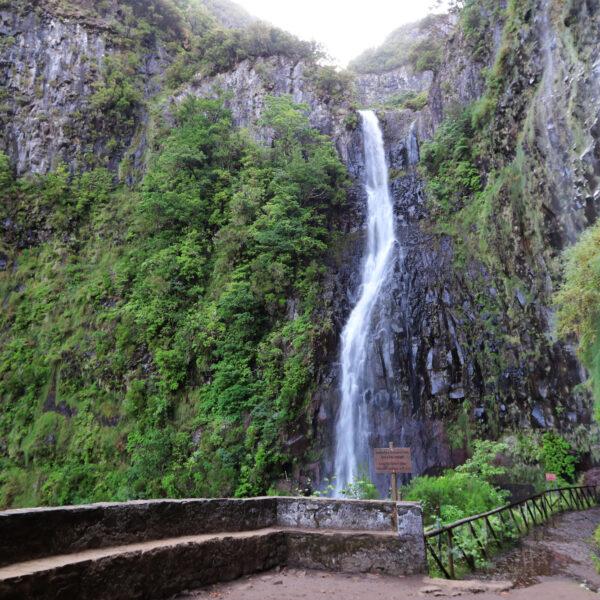 Madeira in 10 beelden - Risco waterval