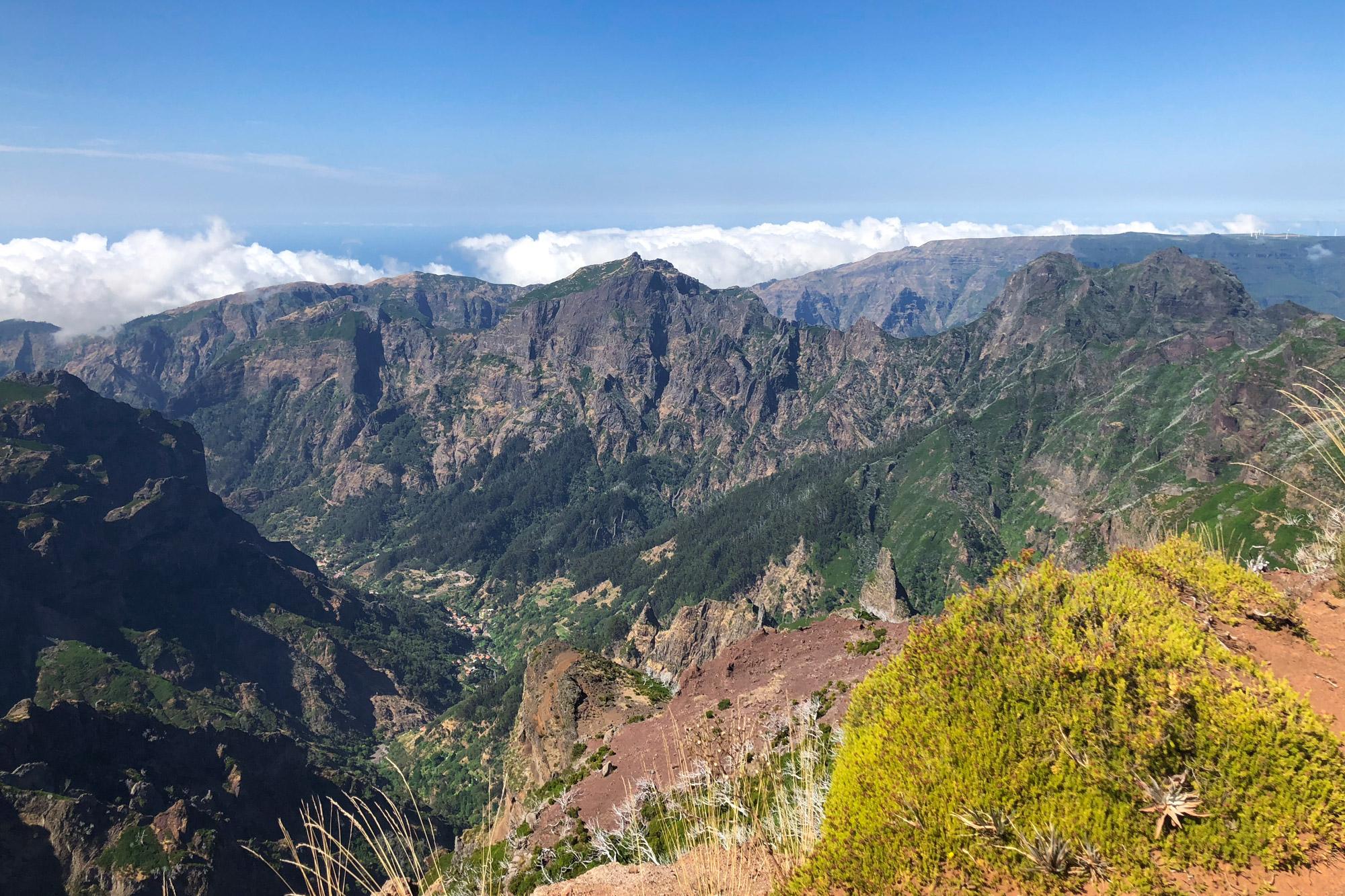 Madeira in 10 beelden - Van Pico do Arieiro naar Pico Ruivo