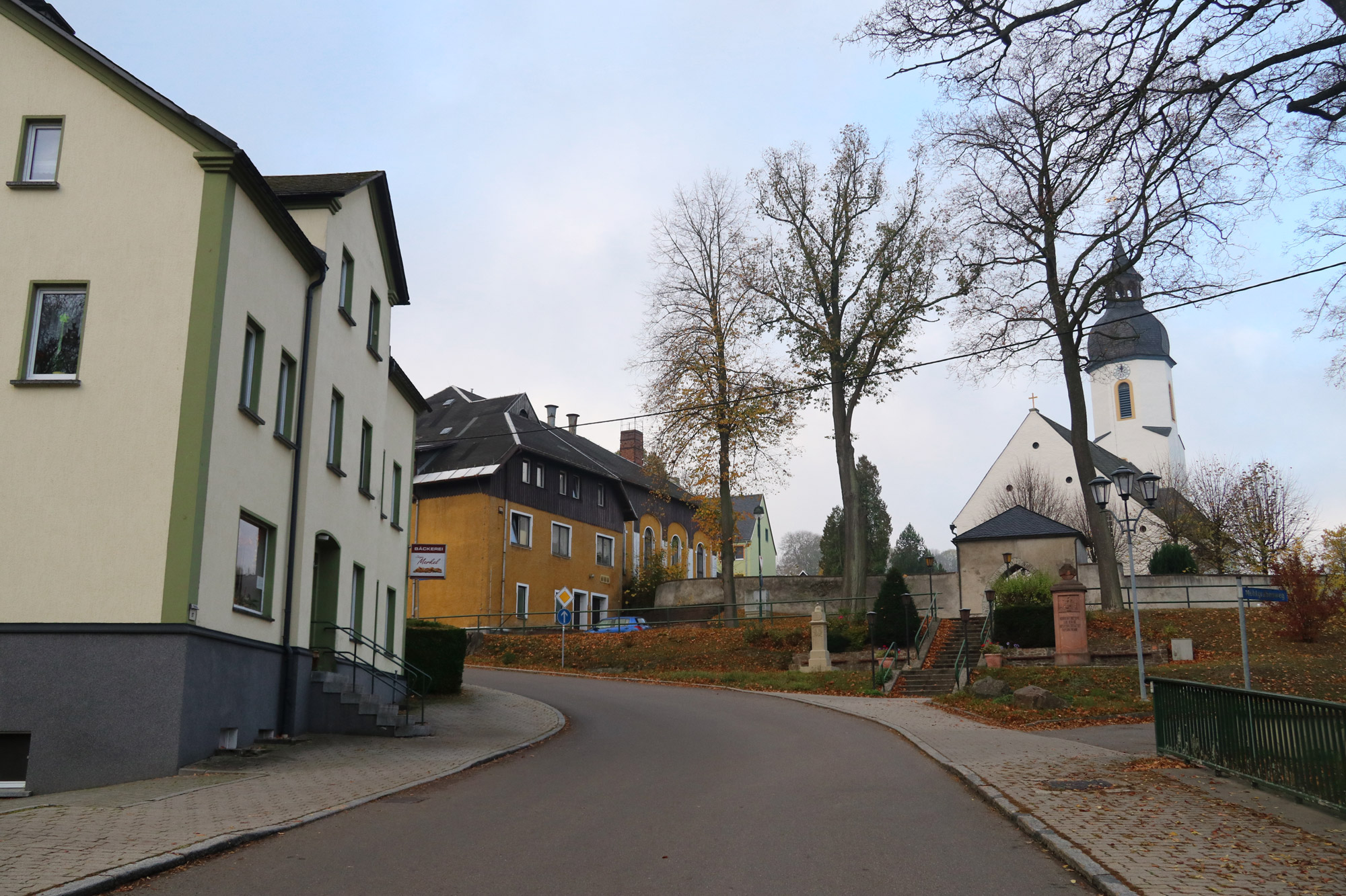 De dorpjes van het Mittleres Erzgebirge - Clauznitz
