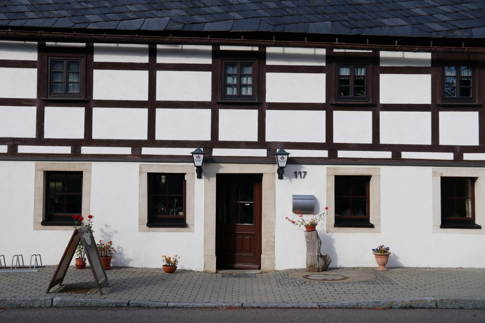 De dorpjes van het Mittleres Erzgebirge - Cämmerswalde