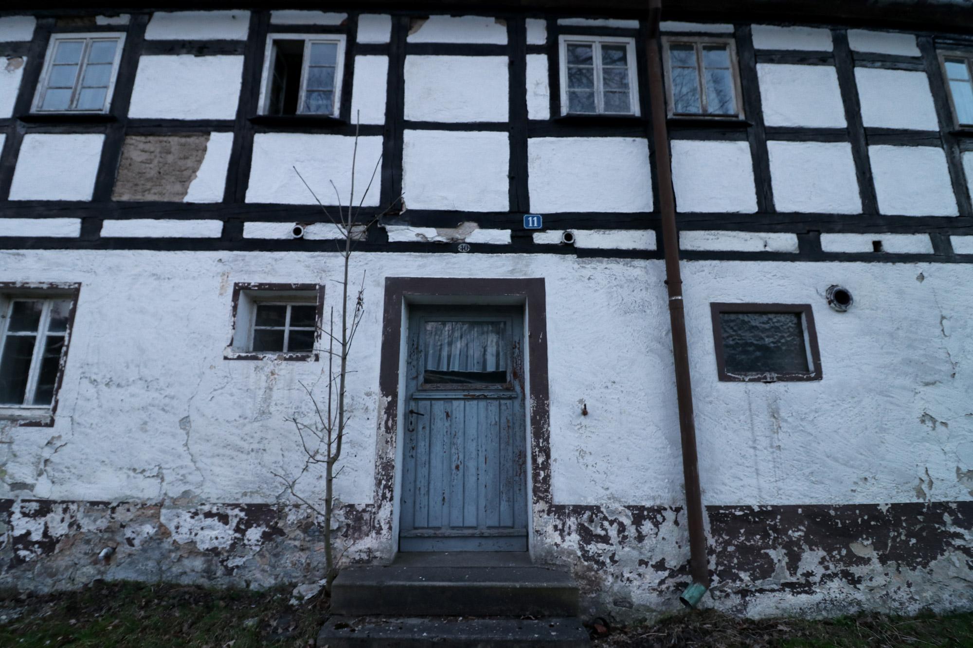 De dorpjes van het Mittleres Erzgebirge - Friedebach