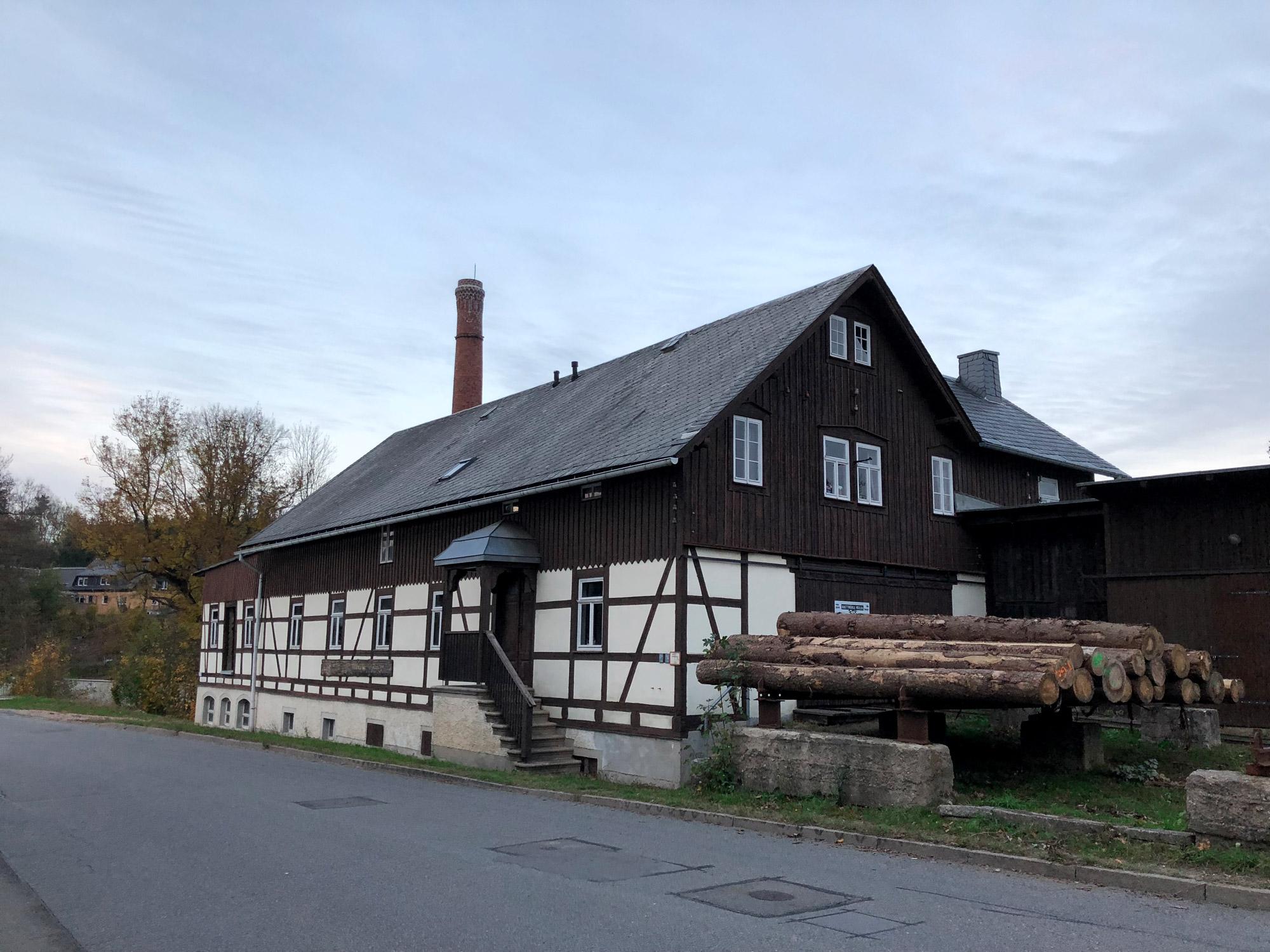 De dorpjes van het Mittleres Erzgebirge - Mulda