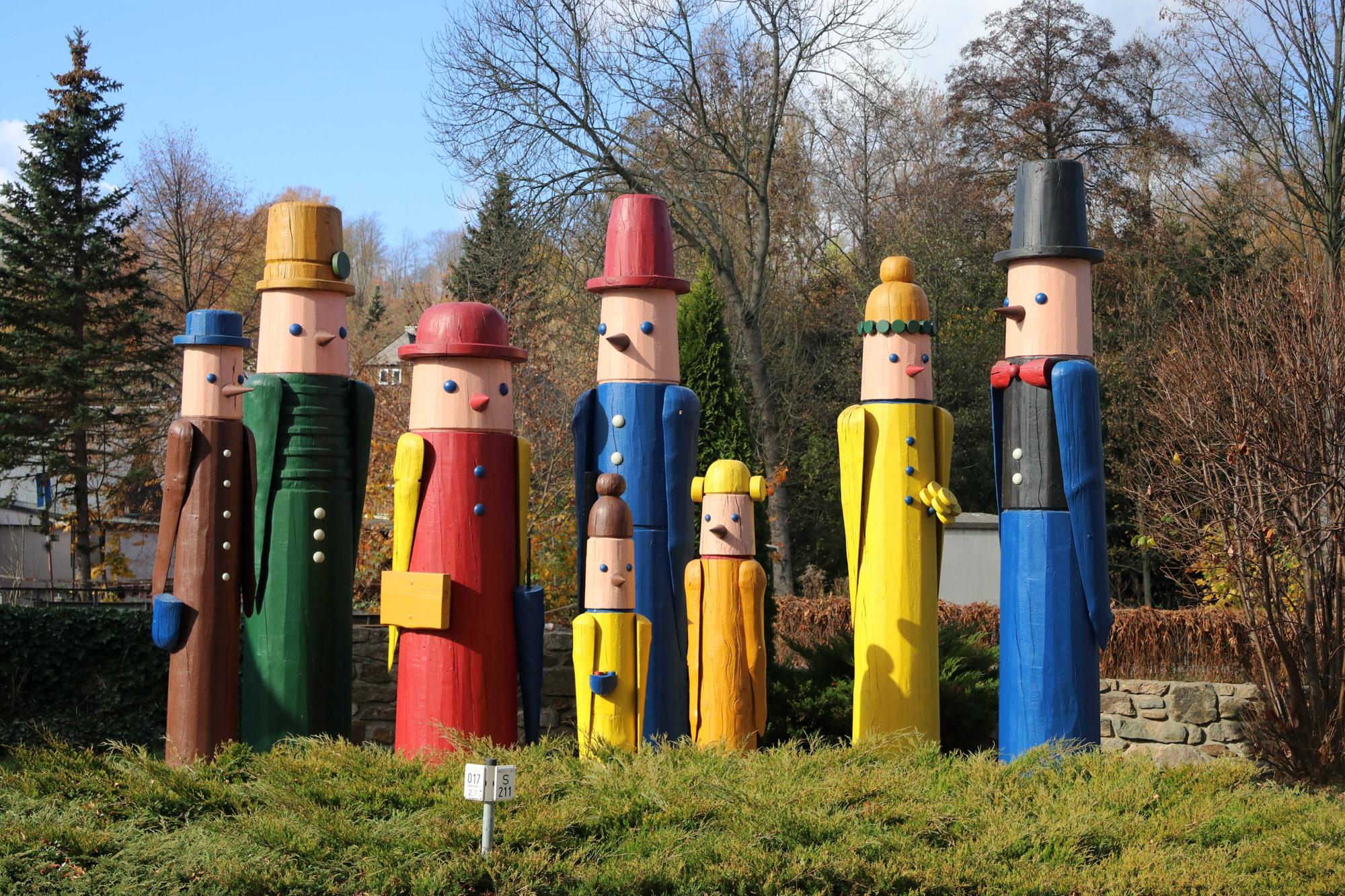 De dorpjes van het Mittleres Erzgebirge - Neuhausen