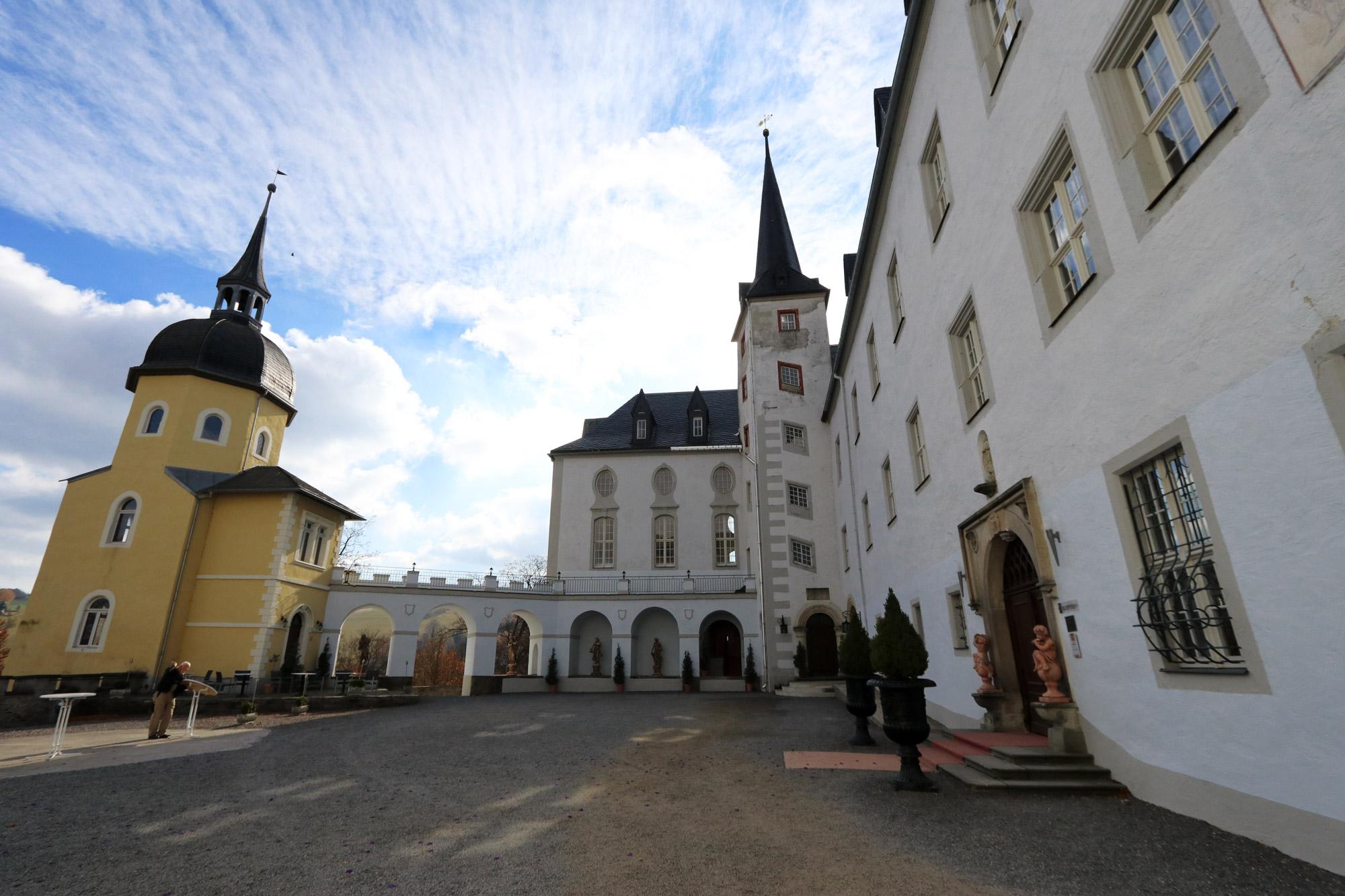 De dorpjes van het Mittleres Erzgebirge - Schloss Purschenstein