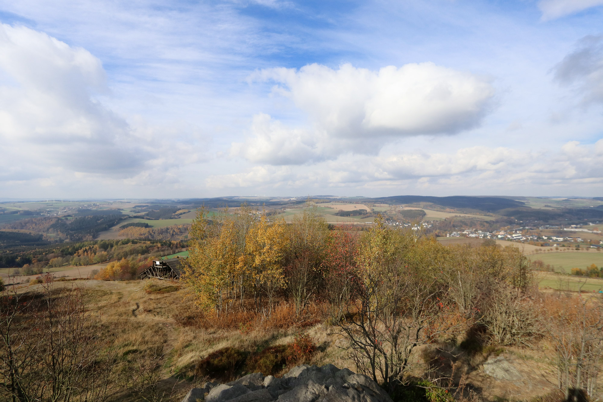 De dorpjes van het Mittleres Erzgebirge - Schwartenberg