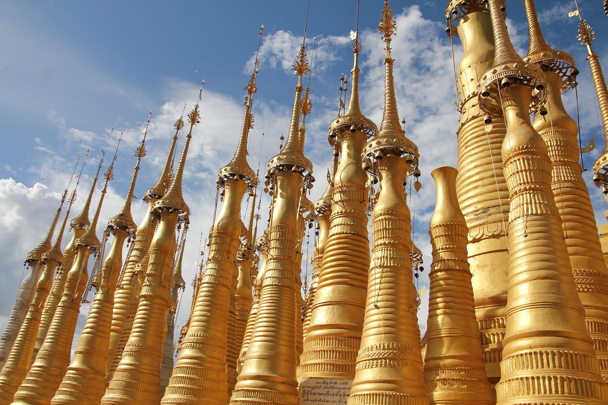 Ik reis graag naar Azië, dit was in Myanmar