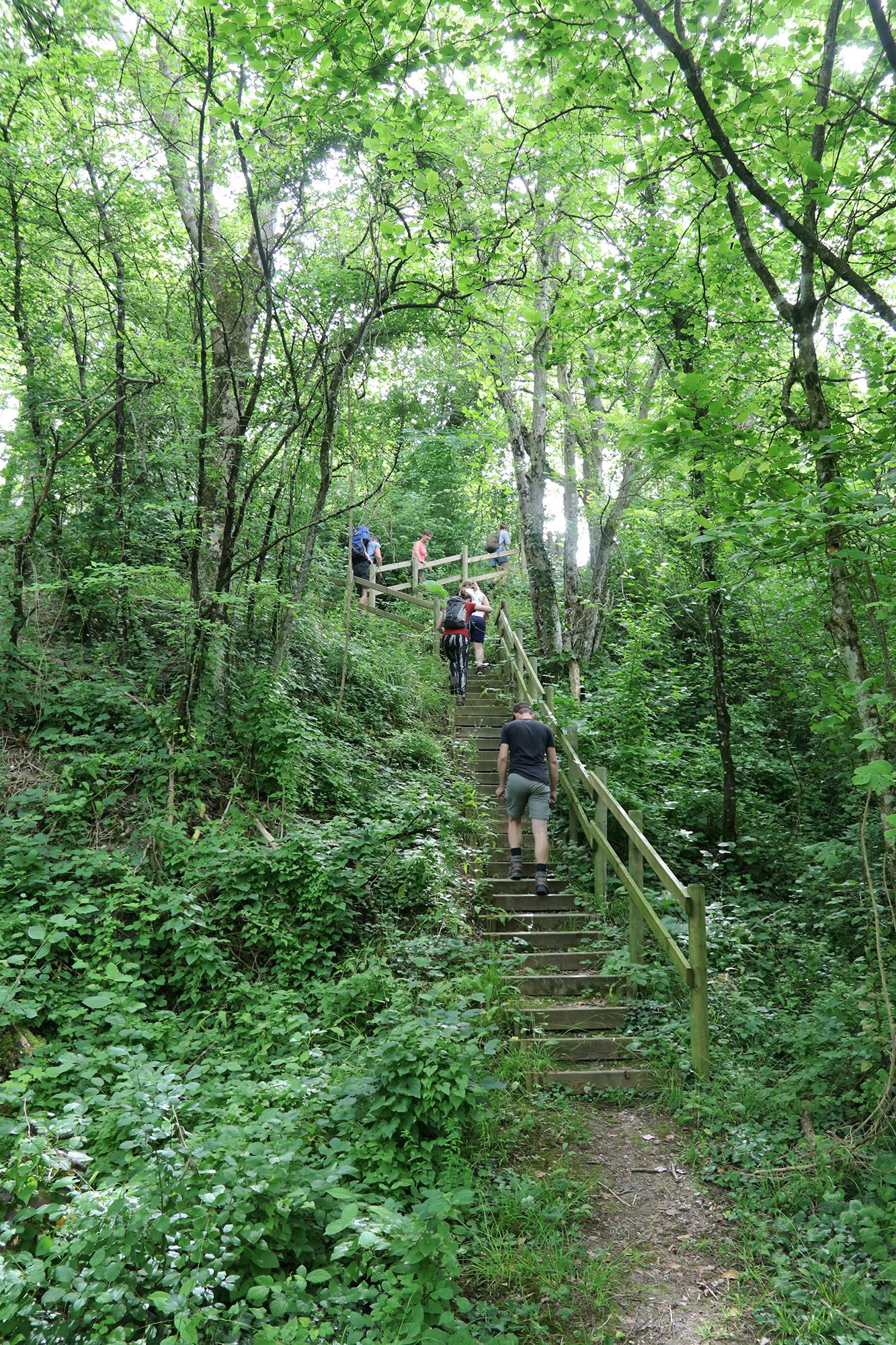 Wandelen bij Monts de Séry