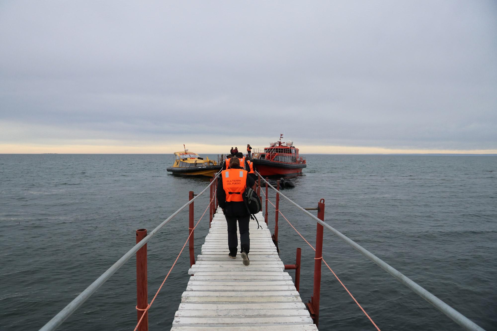 Patagonië - Met de boot naar Isla Magdalena