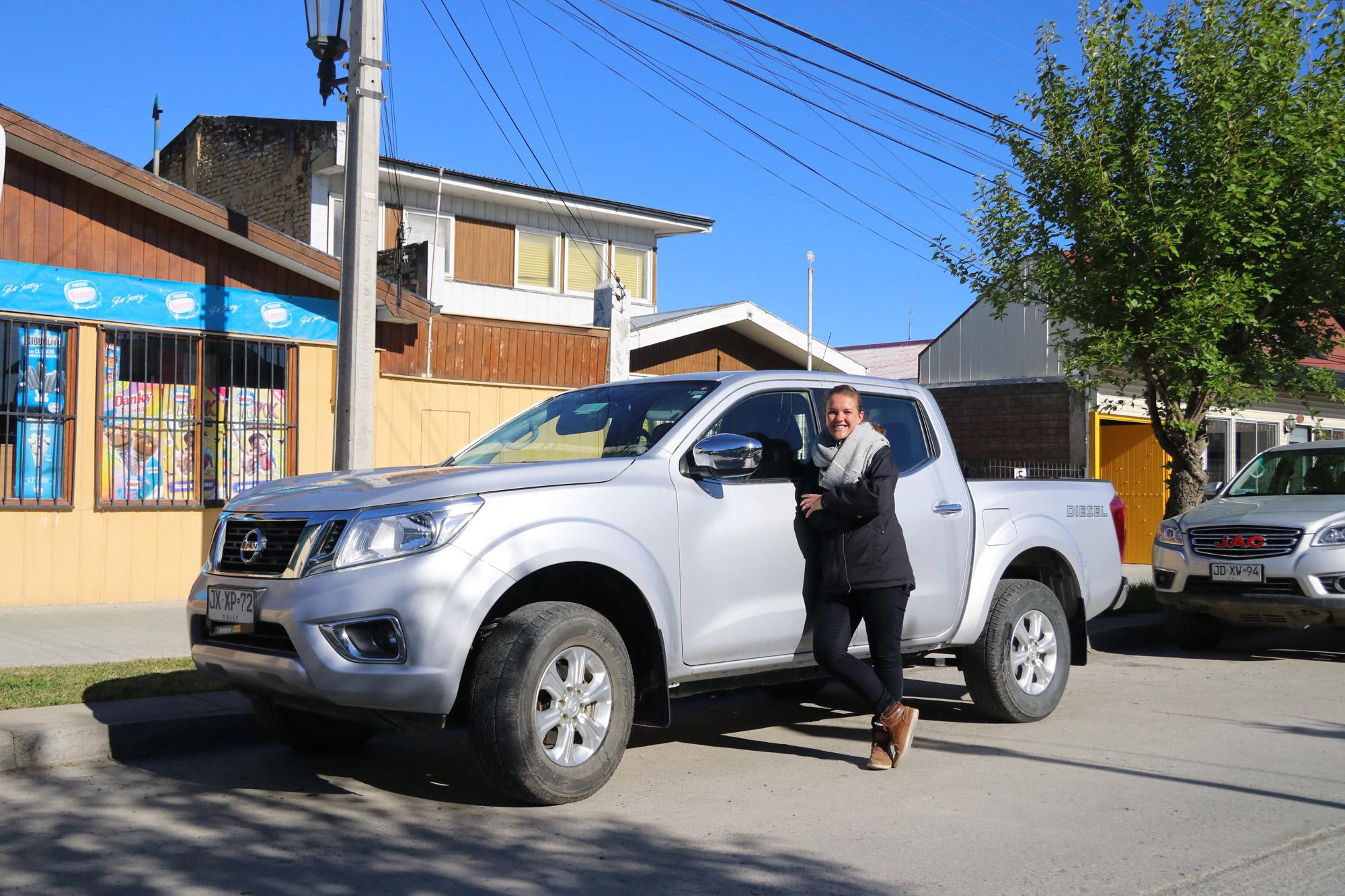Patagonië - Puerto Natales - auto