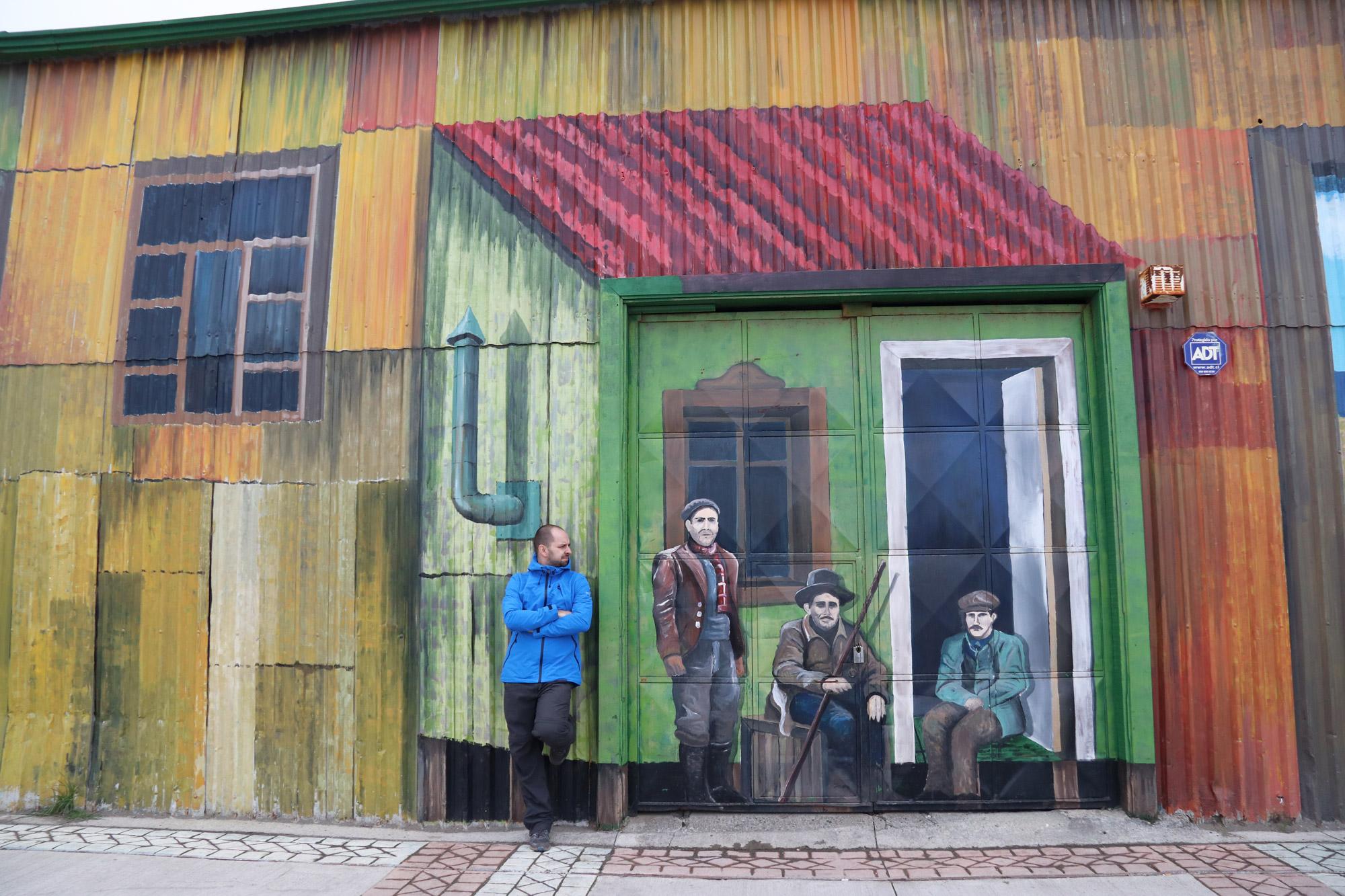 Patagonië - Punta Aremas - Graffiti