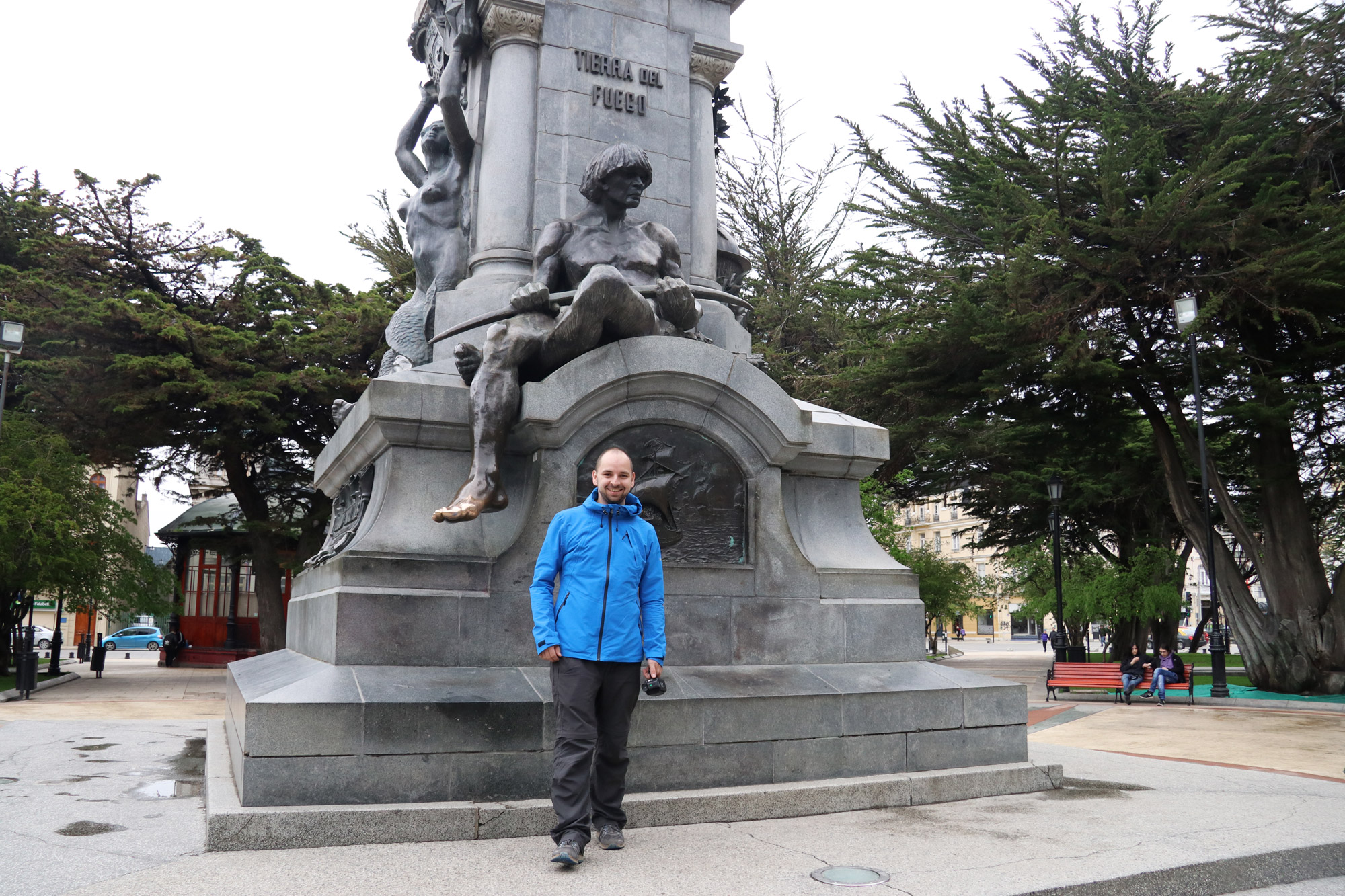 Patagonië - Punta Aremas - Plaza de Armas
