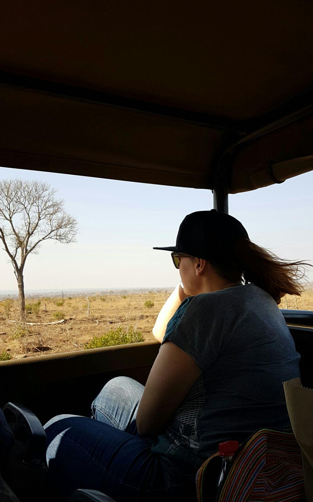 Jolanda - Bijzondere foto van mijn eerste vakantie alleen