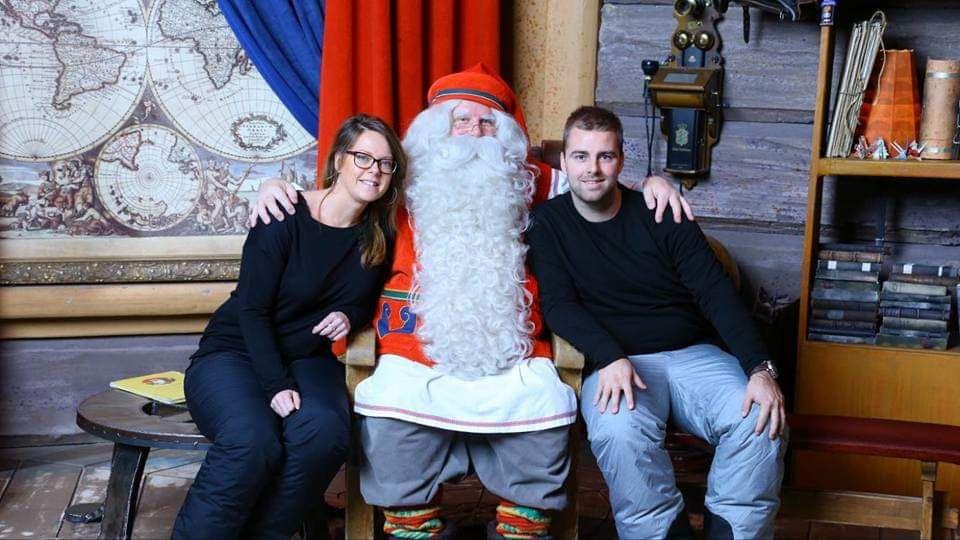 Jolanda - Op de foto met de kerstman