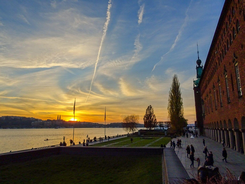 Jolanda - Zonsondergang Stadhuis Stockholm