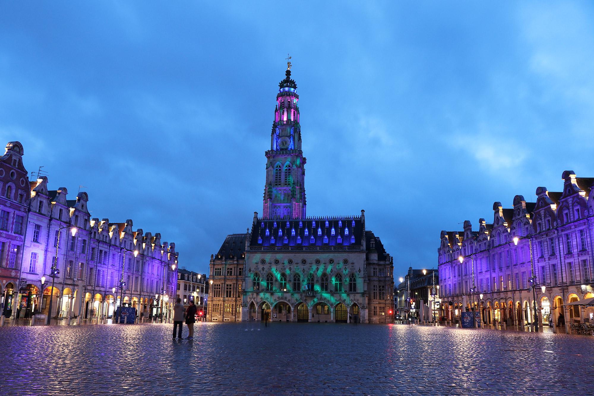 Blue Monday - Het blauwe uur in Arras