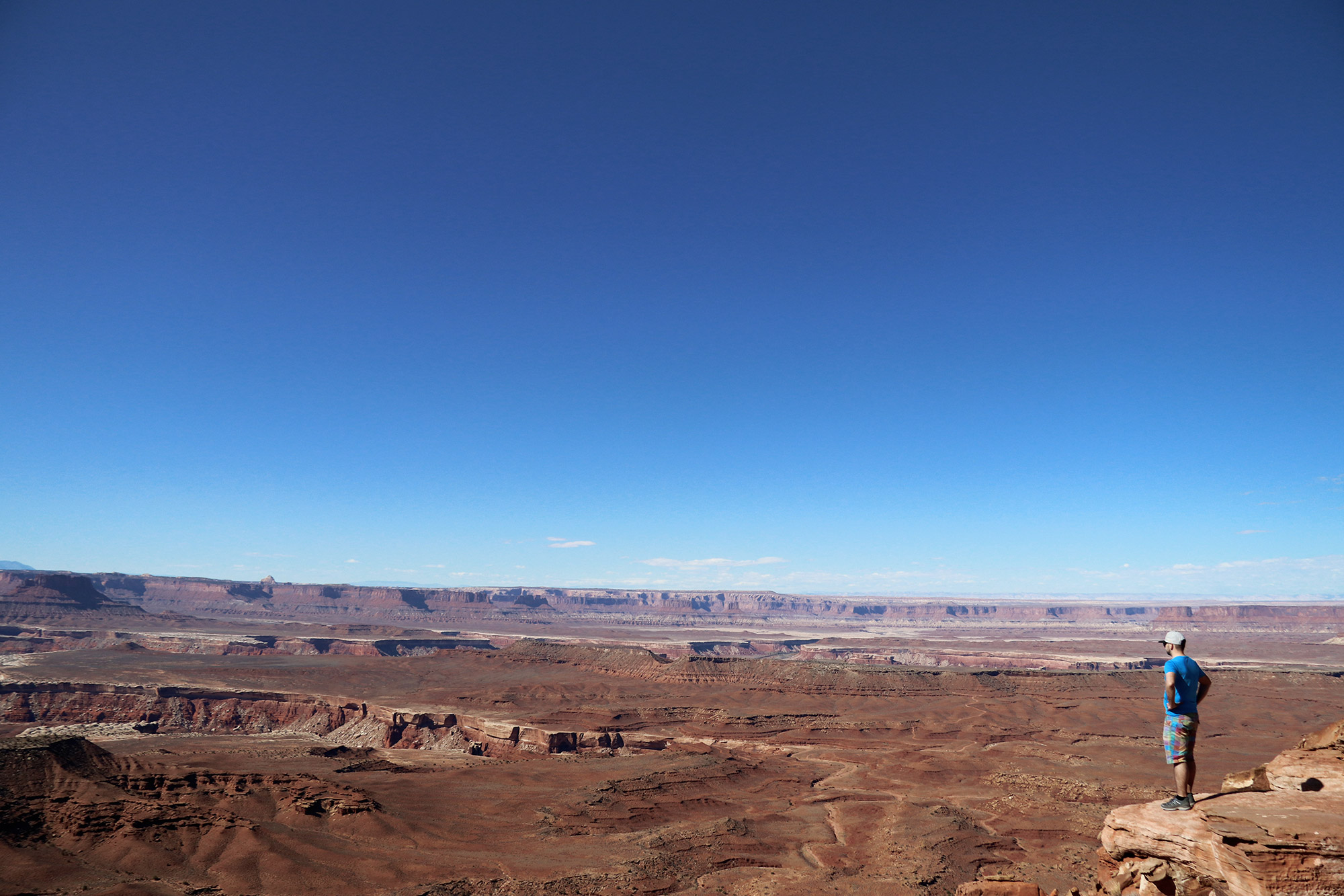 Blue Monday - Blauwe lucht in Canyonlands National Park
