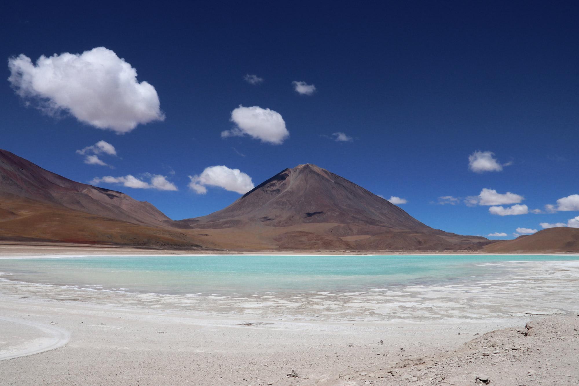 Blue Monday - Laguna Verde in Bolivia