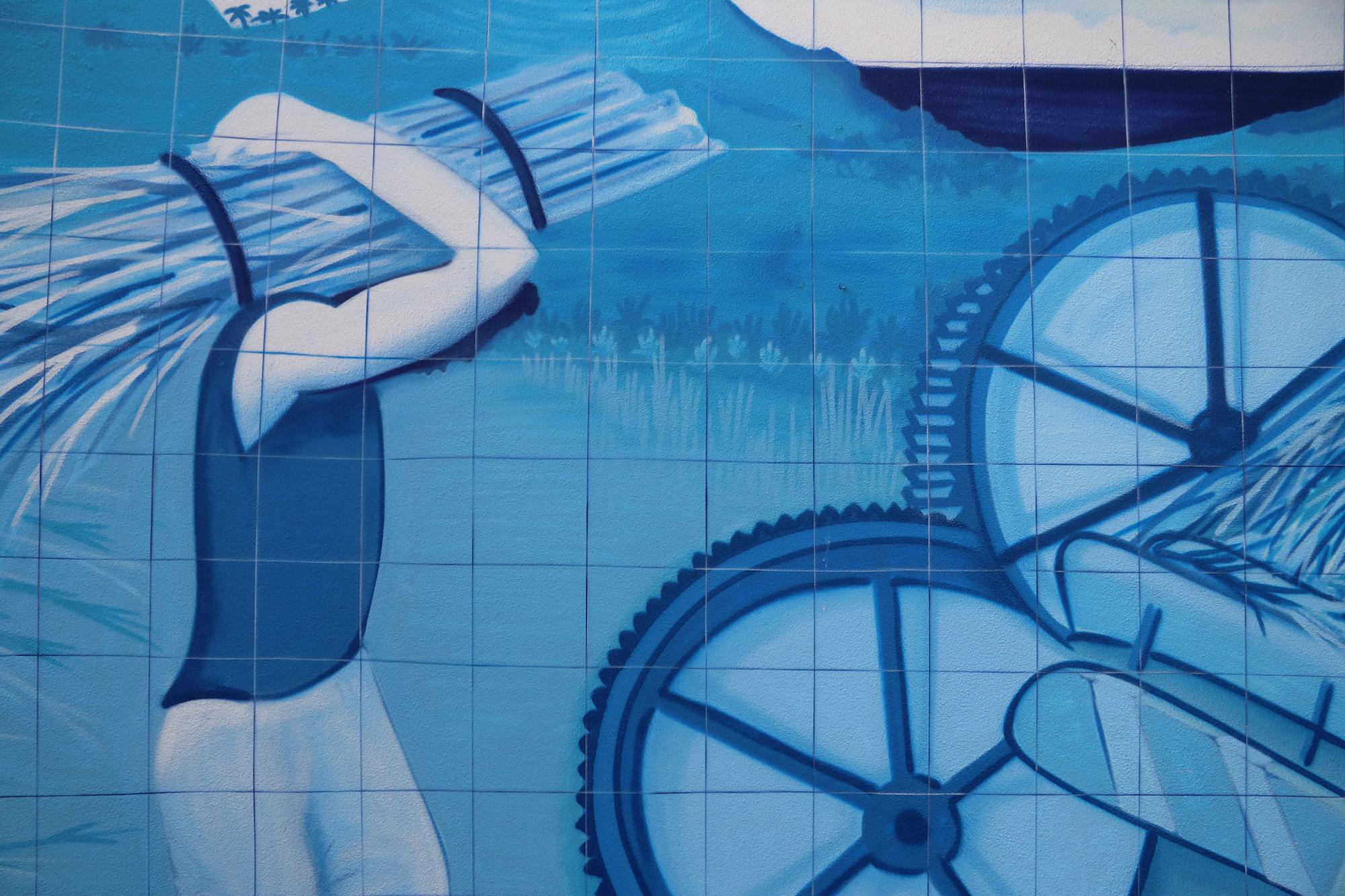 Blue Monday - Blauwe tegeltjes op Madeira