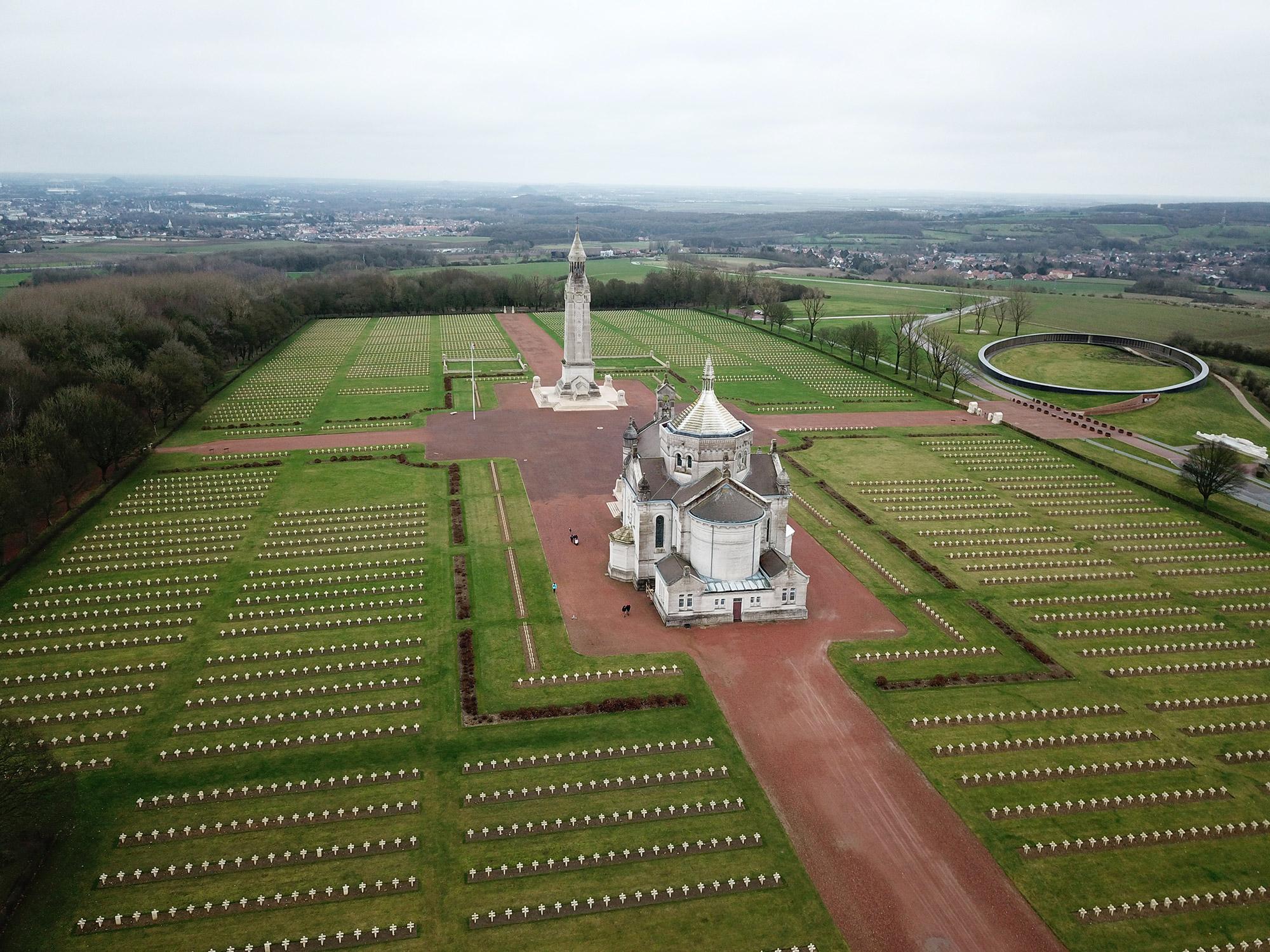 Nécropole nationale de Notre-Dame de Lorette - Ablain-Saint-Nazaire - Frankrijk