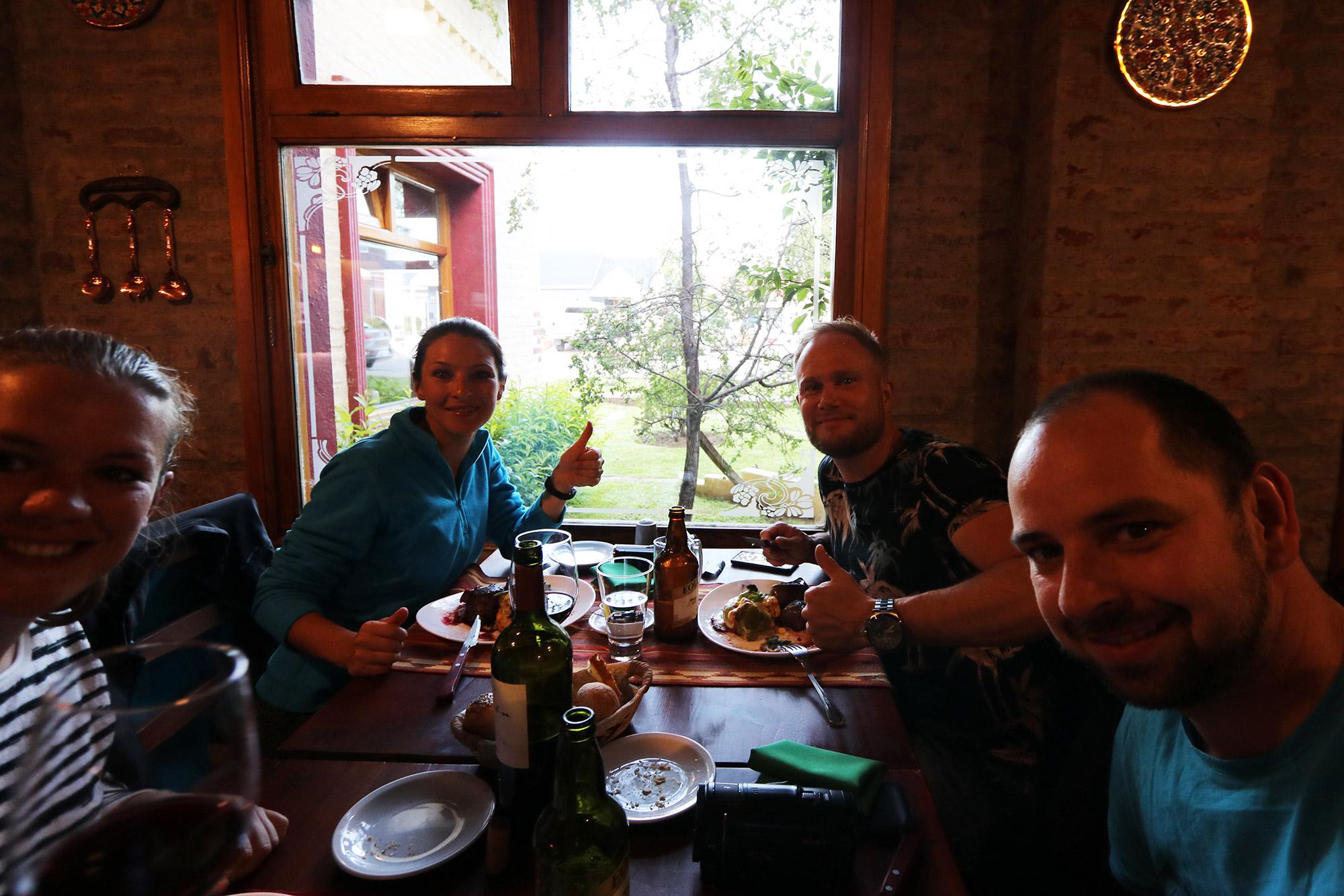 Reisverslag Patagonië - Reünie in El Calafate