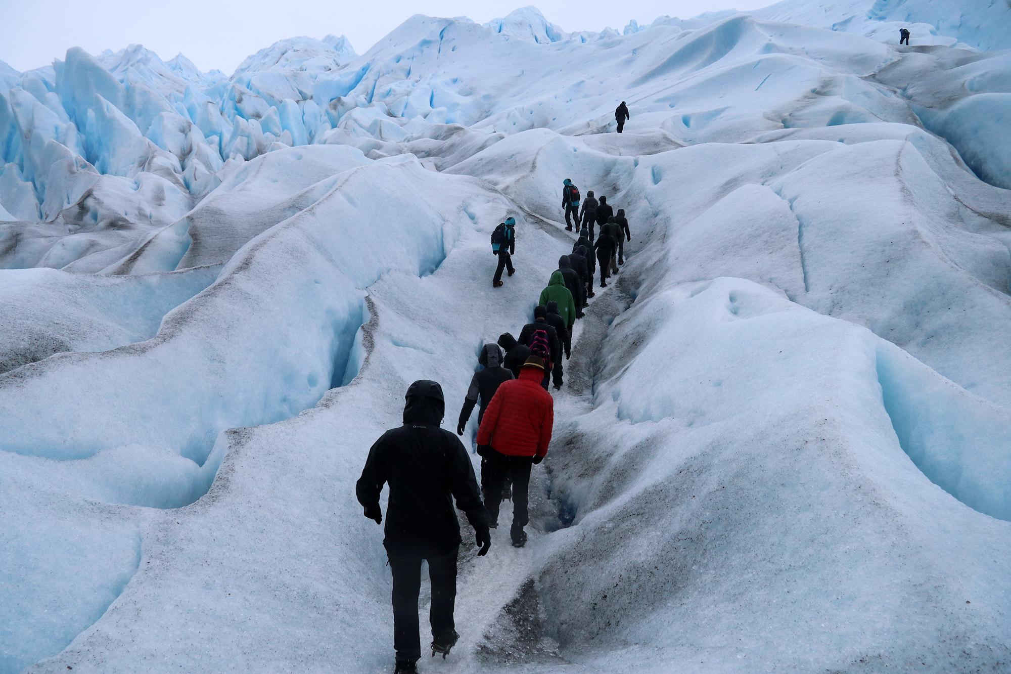 Reisverslag Patagonië - Perito Moreno - Parque Nacional Los Glaciares