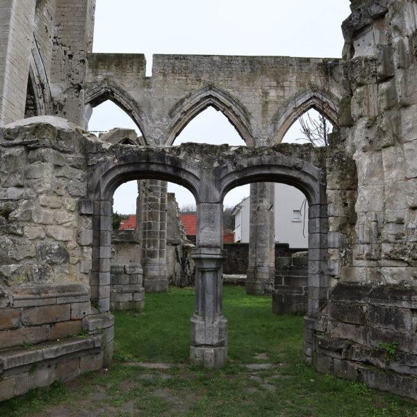 Ruïne Ablain-Saint-Nazaire kerk - Ablain-Saint-Nazaire - Frankrijk
