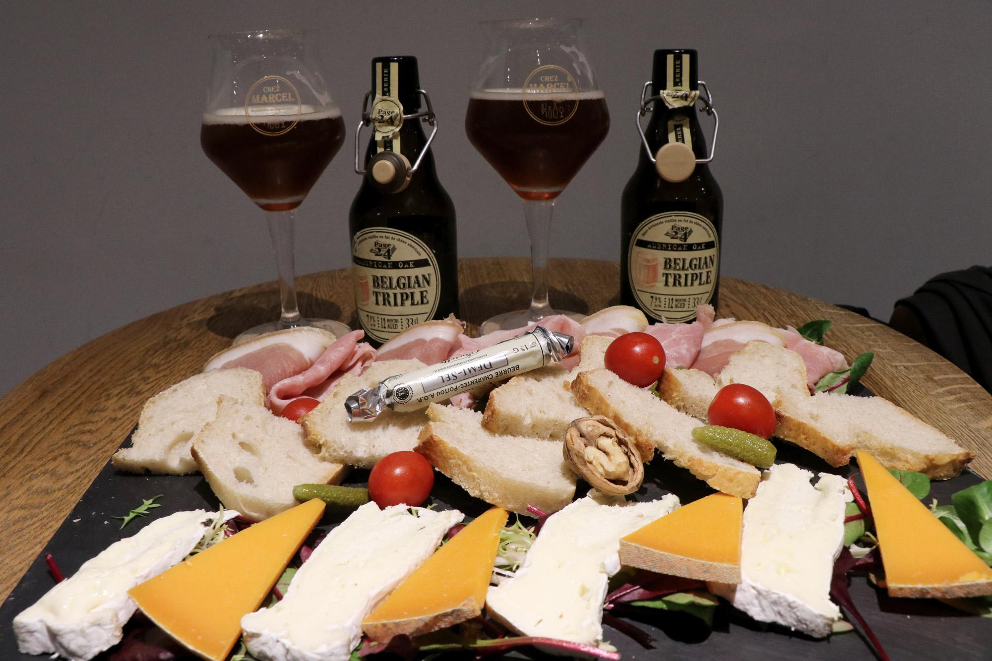 Stedentrip Arras - Bier en kaas bij Chez Marcel