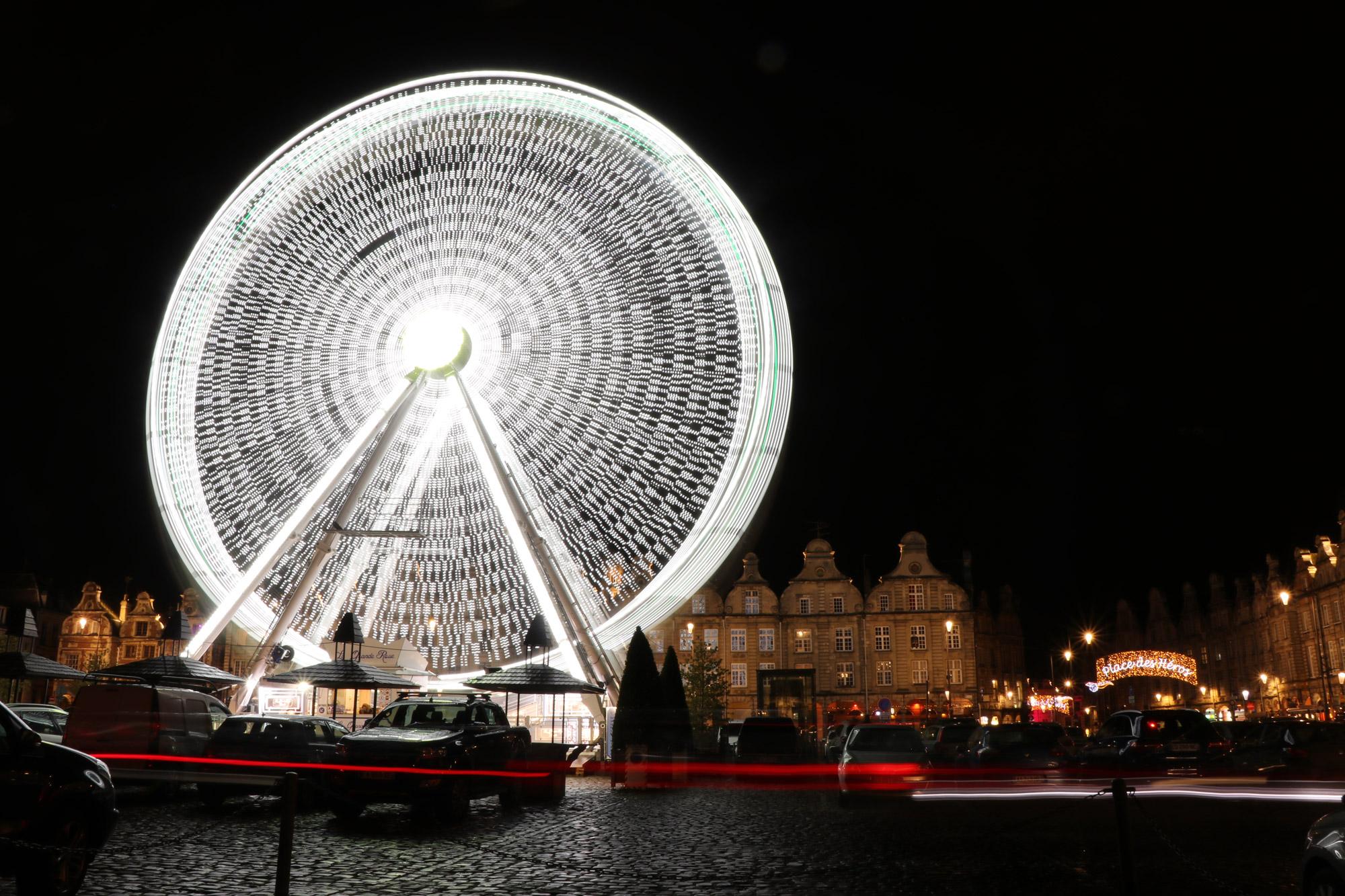 Stedentrip Arras - Lichtshow op het Grand Place