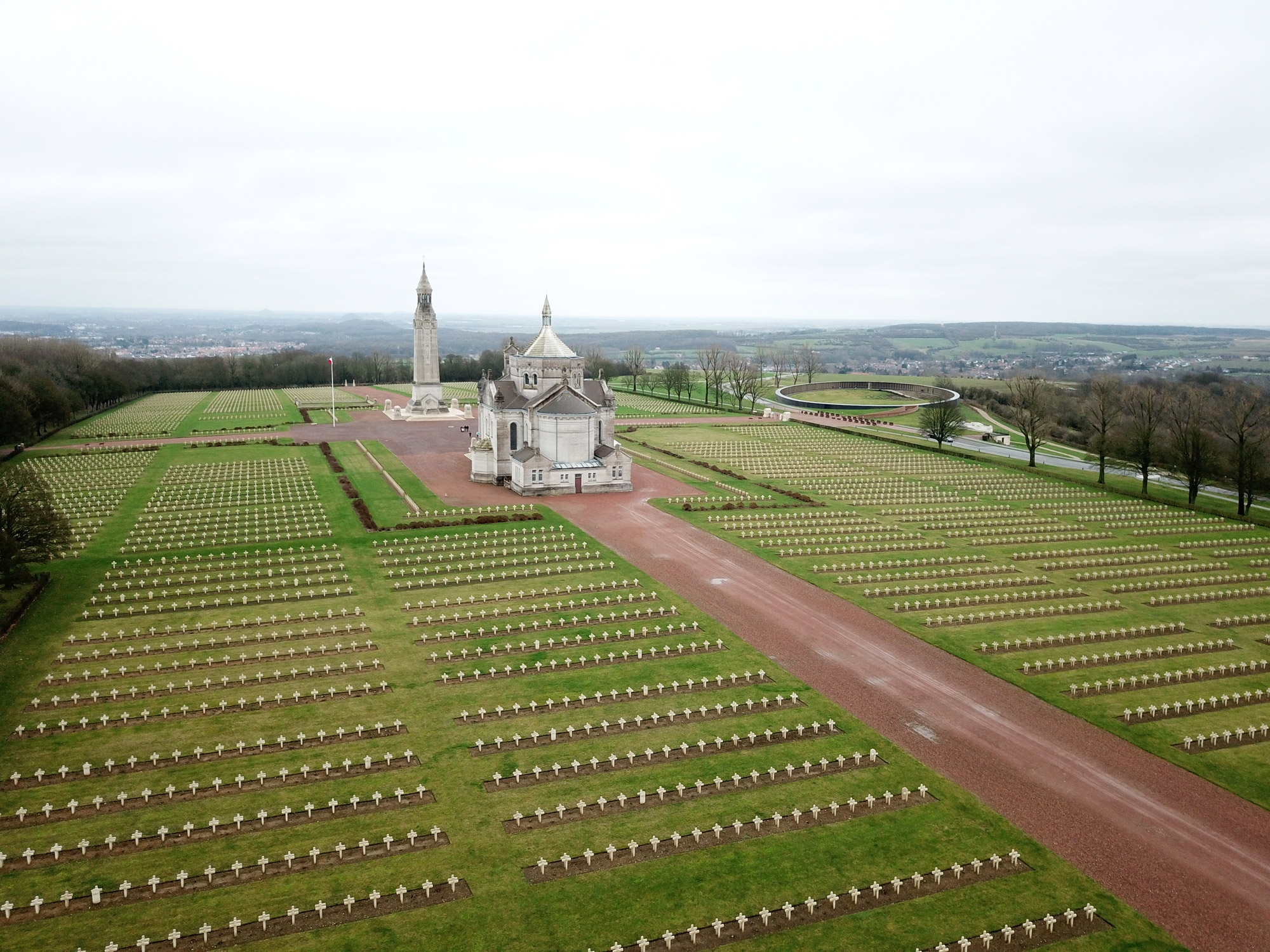 Stedentrip Arras - Notre Dame de Lorette