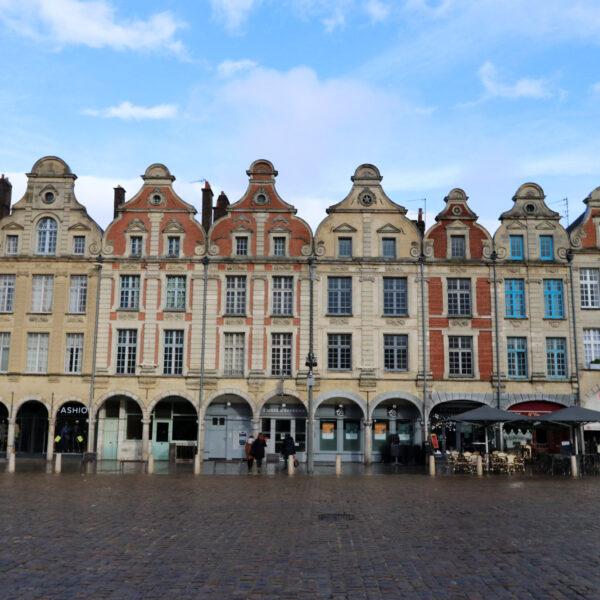 Stedentrip Arras - Herenhuizen op het Place de Héros