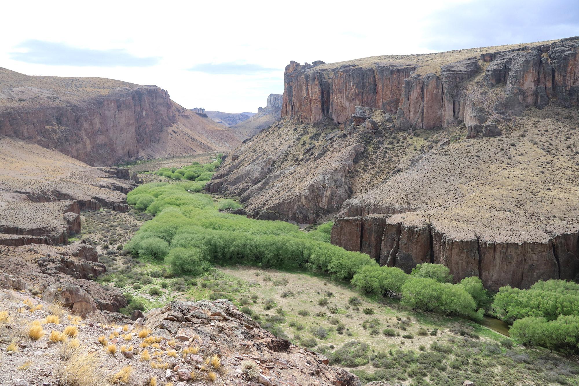 Reisverslag Patagonië - Cueva de las Manos