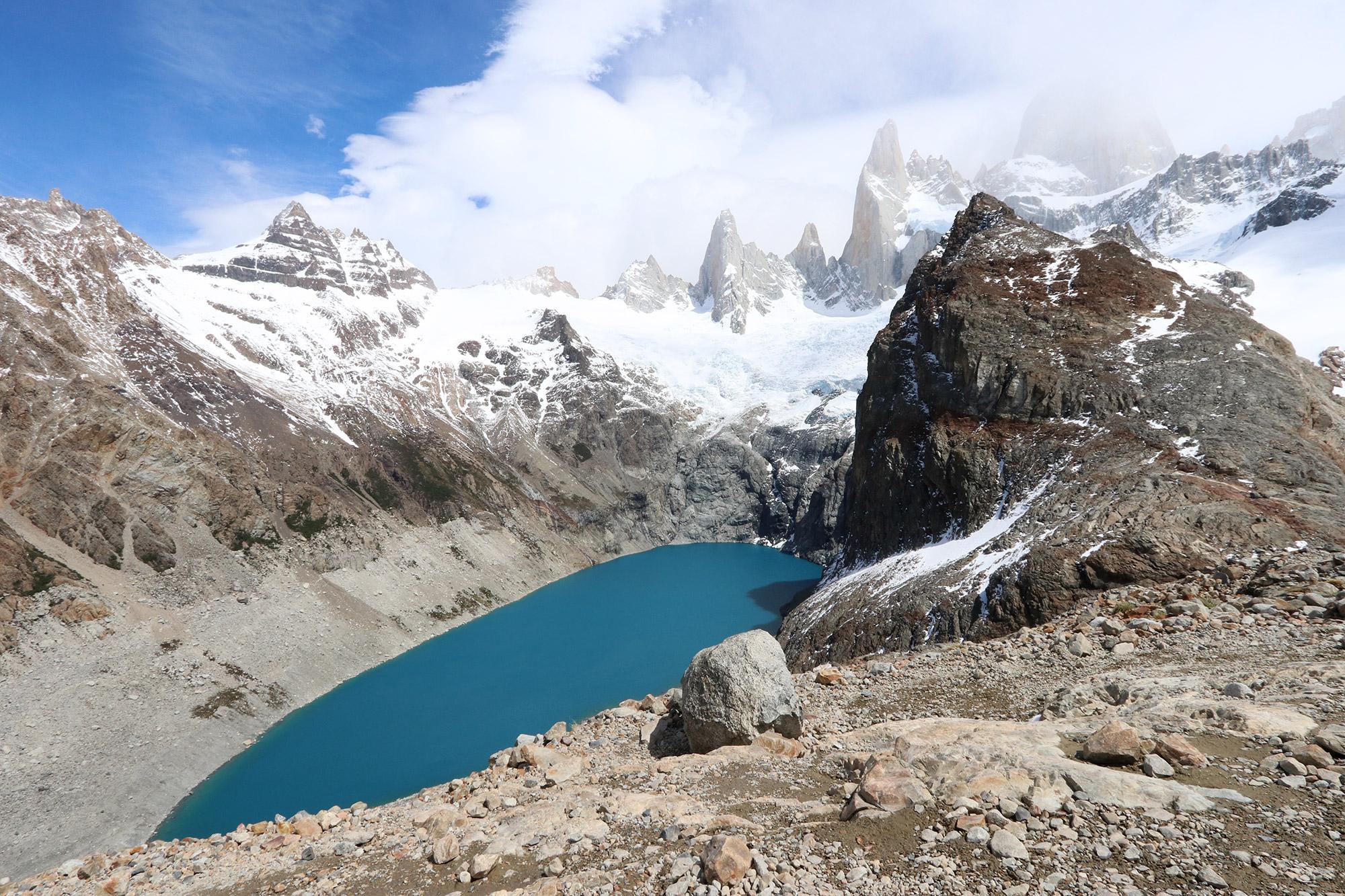 Reisverslag Patagonië - Laguna de los tres