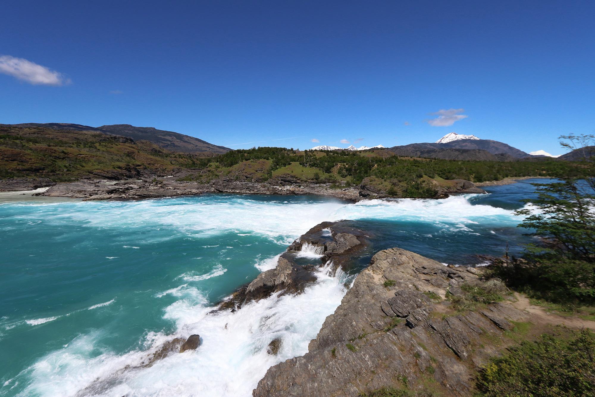 Reisverslag Patagonië - Confluence Rio Baker en Rio Neff