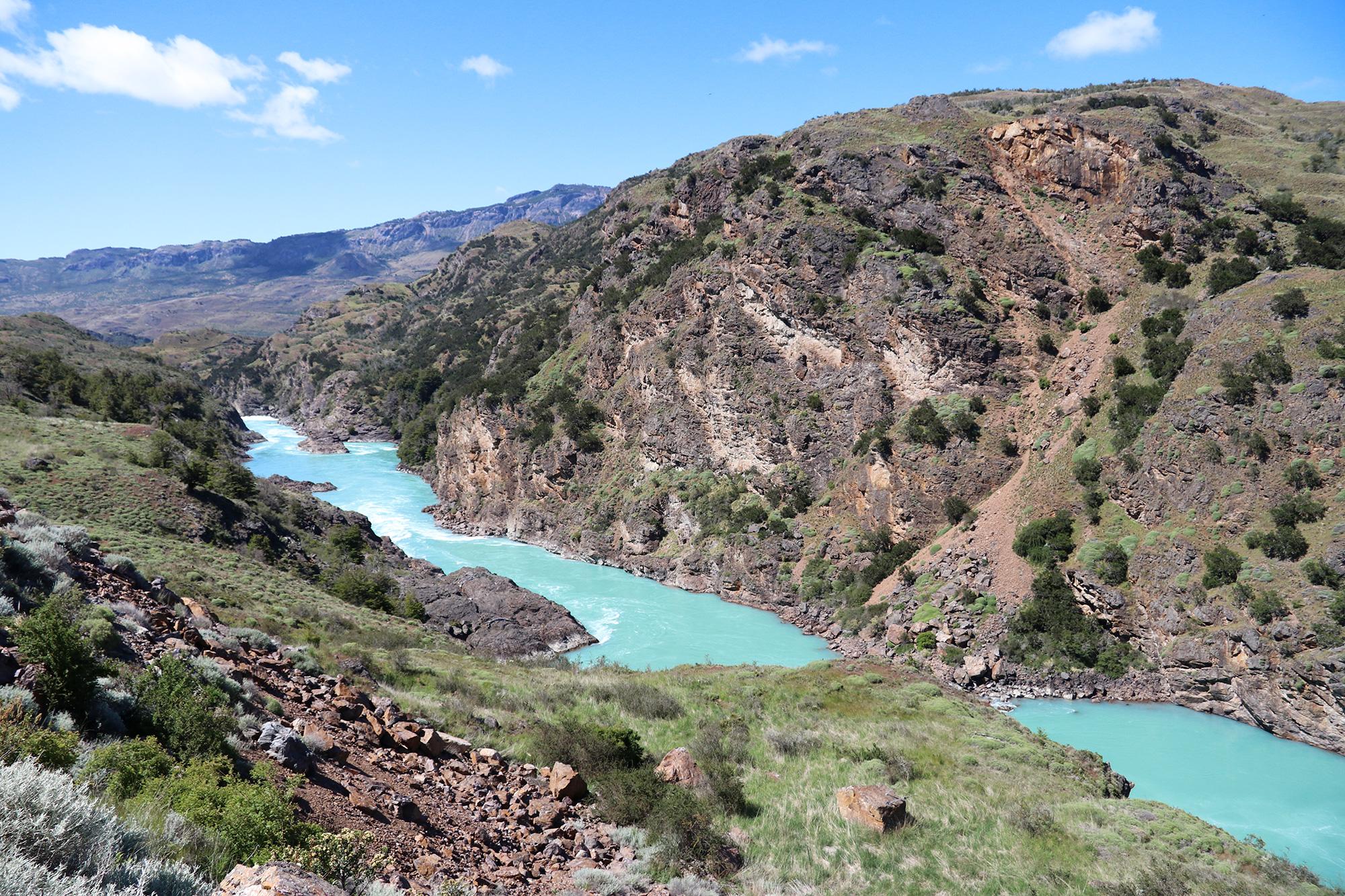 Reisverslag Patagonië - Rio Baker