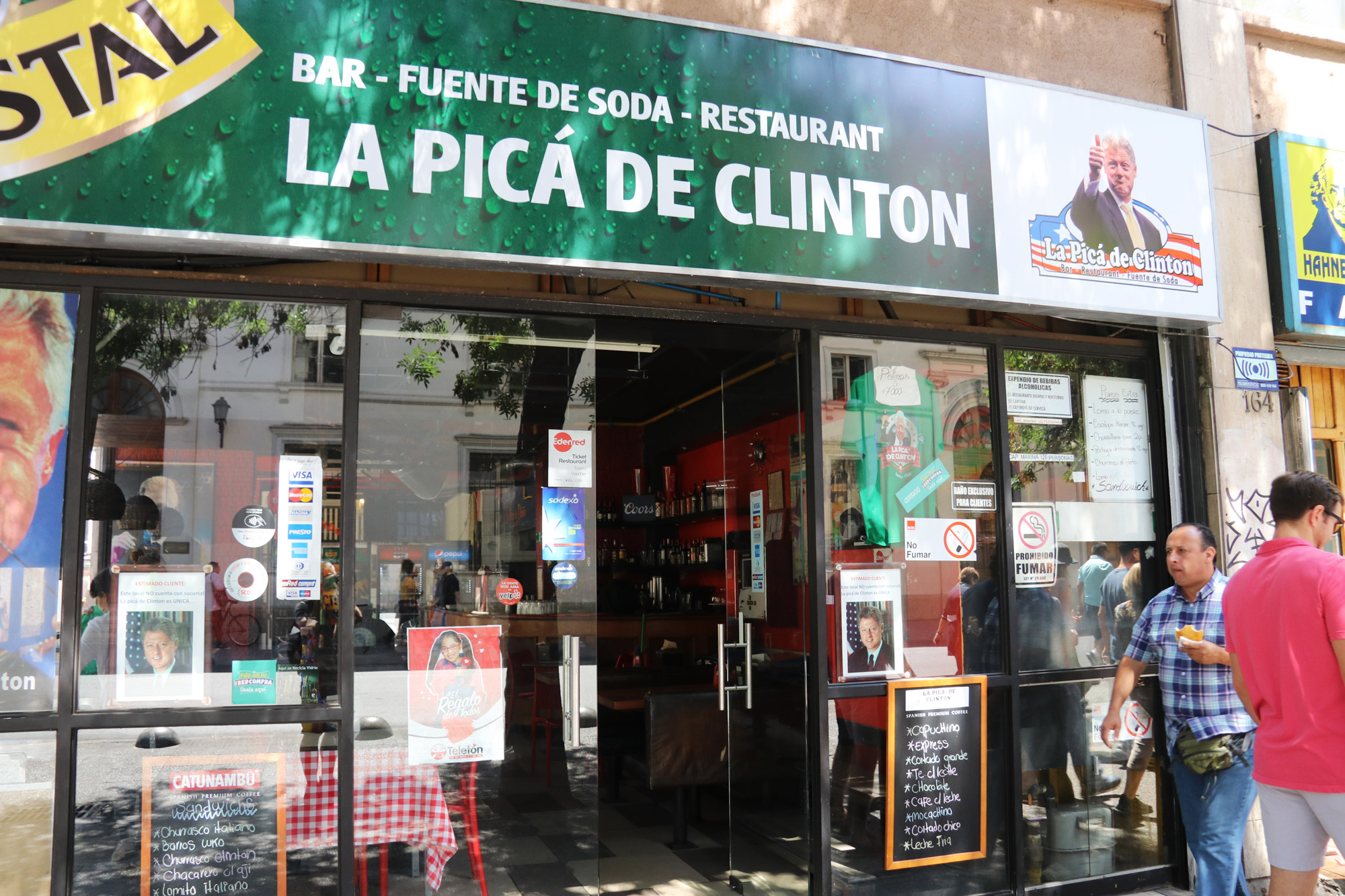 Reisverslag Patagonië - Santiago