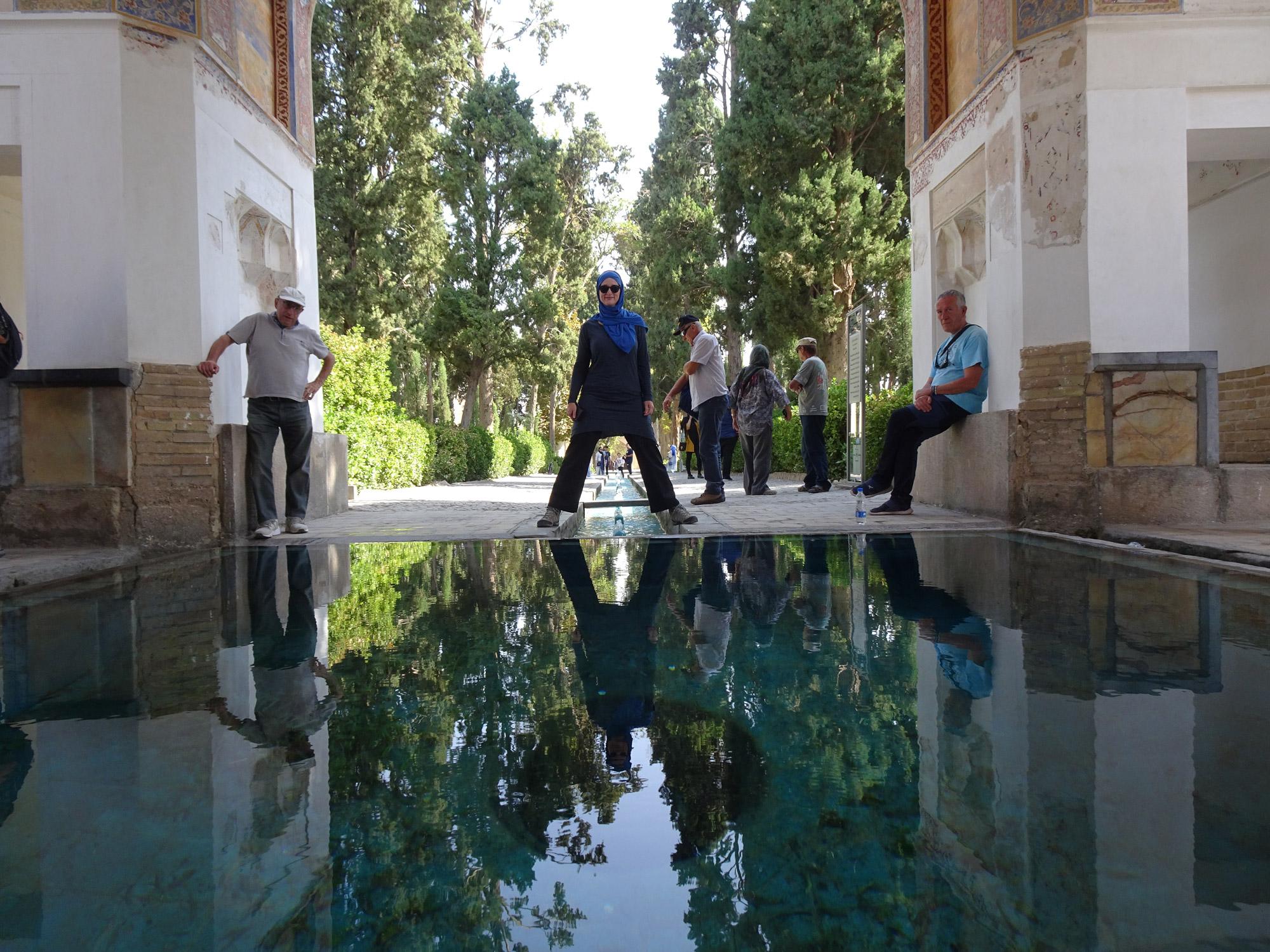 Anika - Iran - Fin Garden in Kashan
