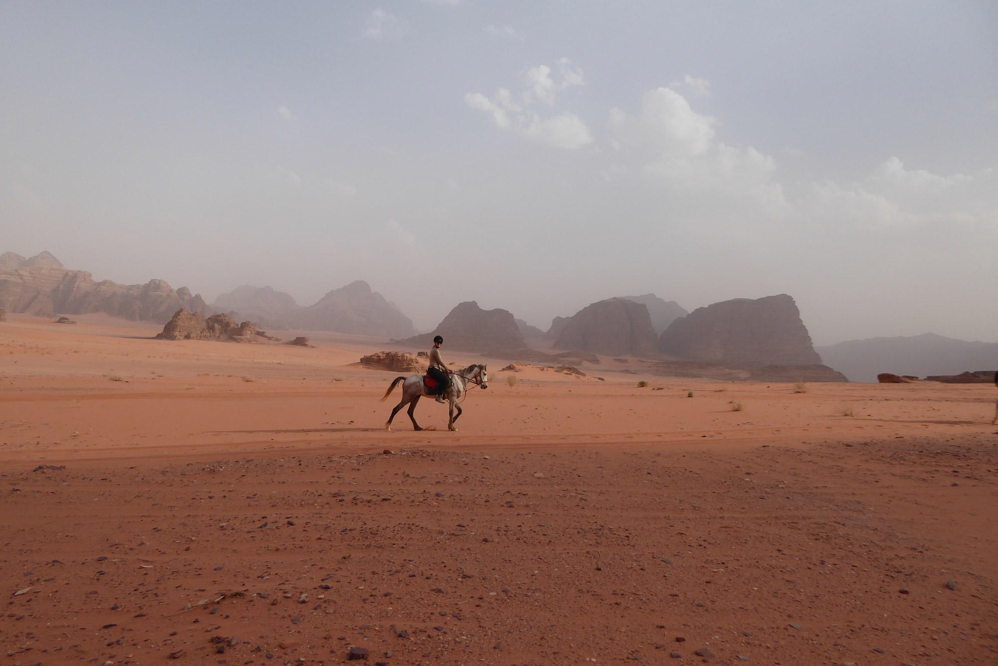 Anika - Jordanië - Wadi Rum