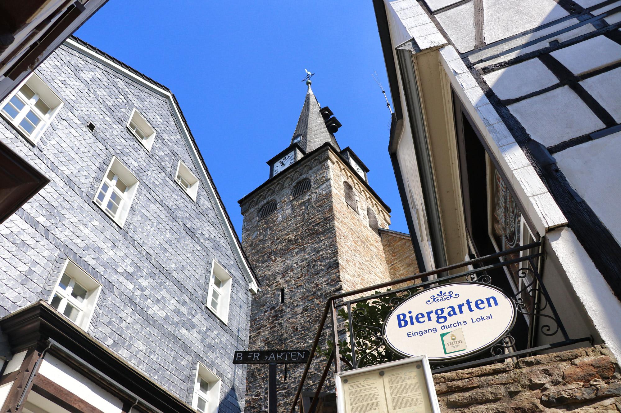Essen-Kettwig - Kirche am Markt