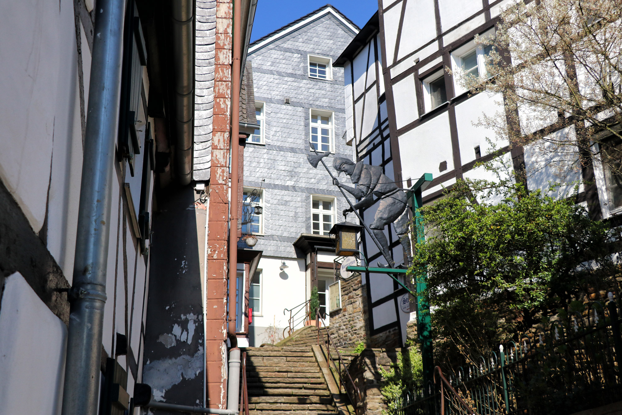 Essen-Kettwig - Kirchtreppe