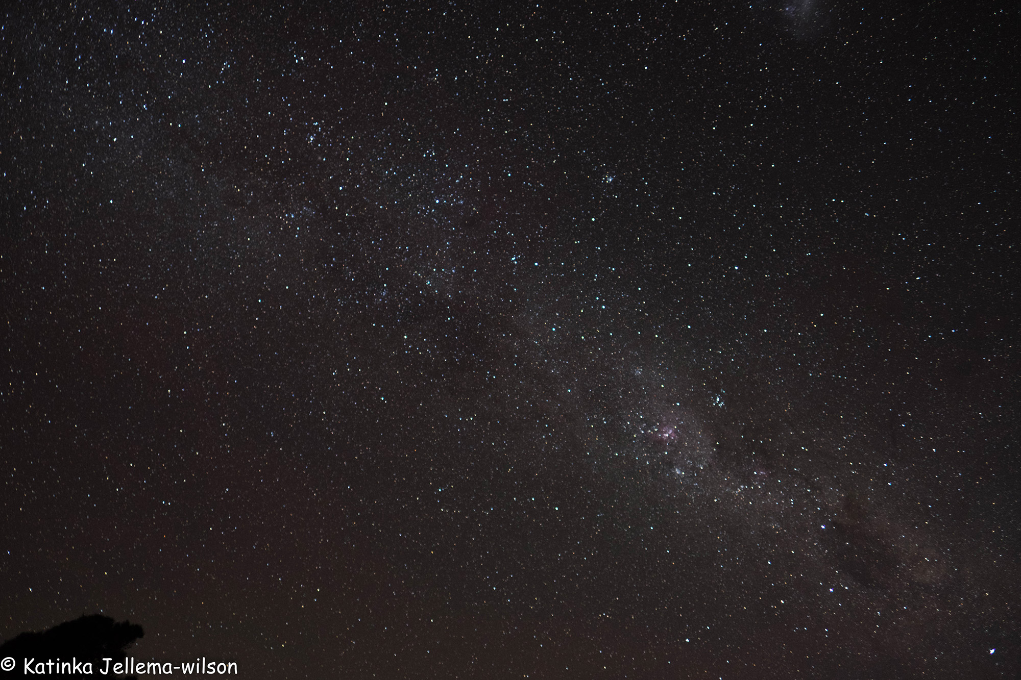 Katinka - Milky Way op de hoogste berg Grampians