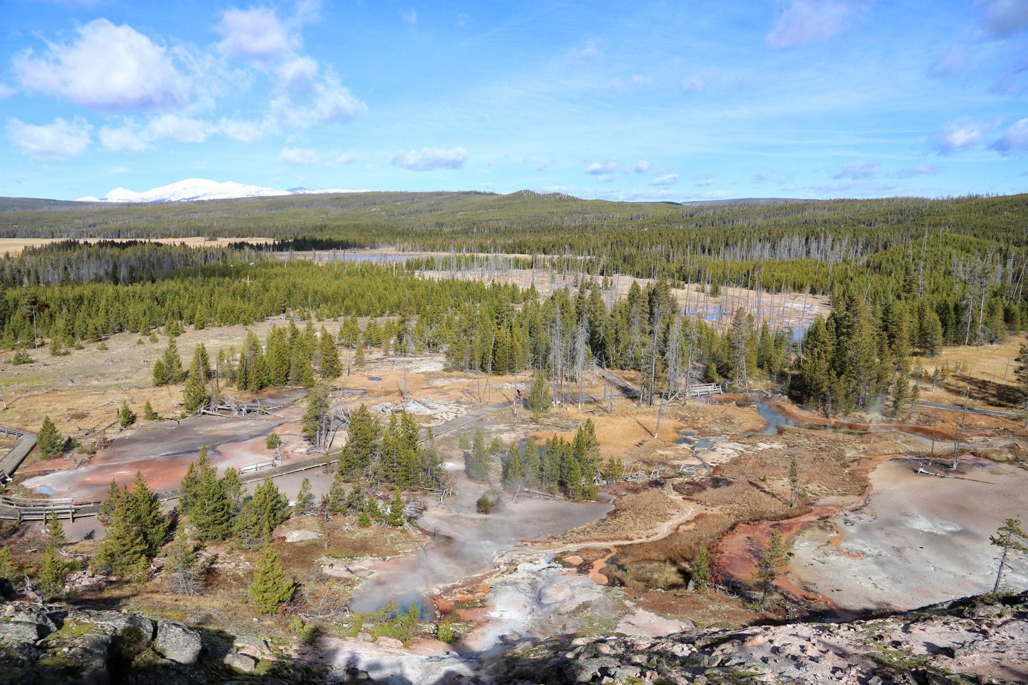 De hoogtepunten van Yellowstone National Park - Artists Paintpots