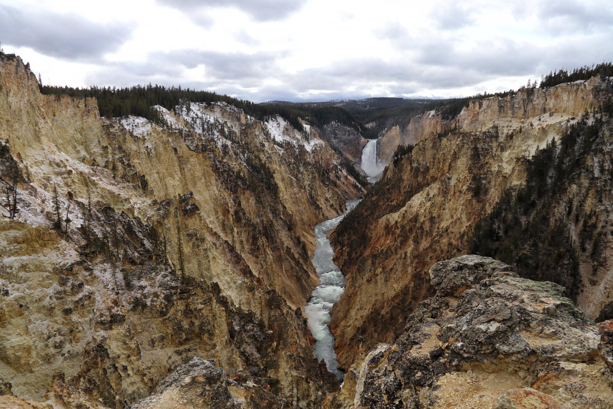 De hoogtepunten van Yellowstone National Park - Grand Canyon van Yellowstone