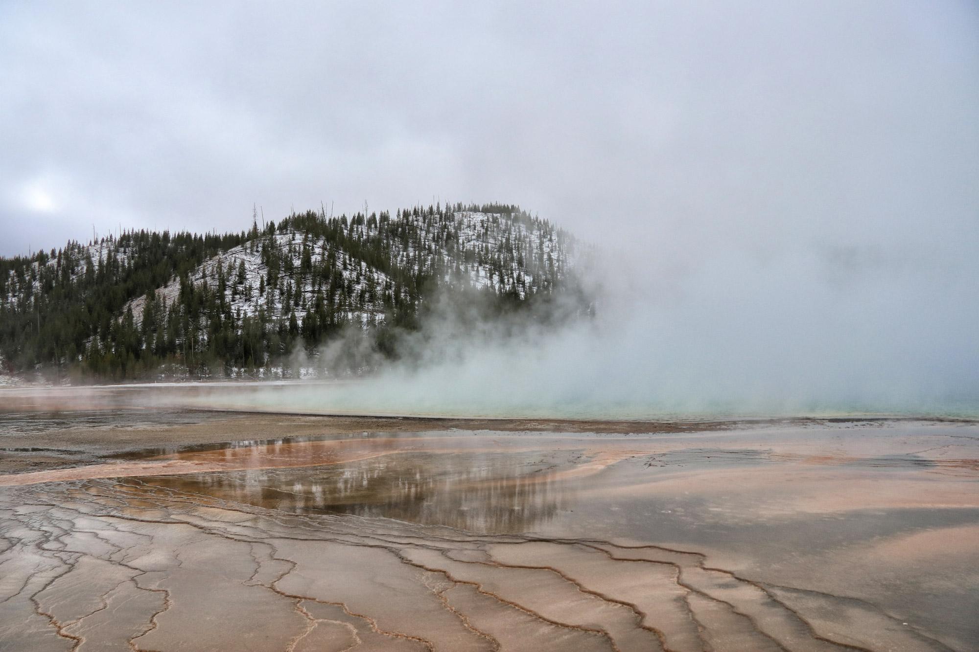 De hoogtepunten van Yellowstone National Park - Grand Prismatic Spring