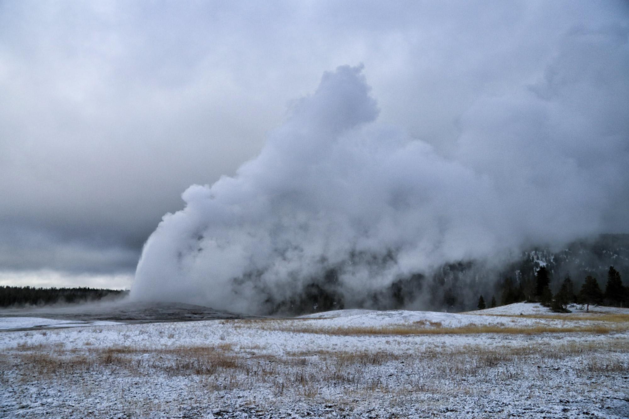 De hoogtepunten van Yellowstone National Park - Upper Geyser Basin