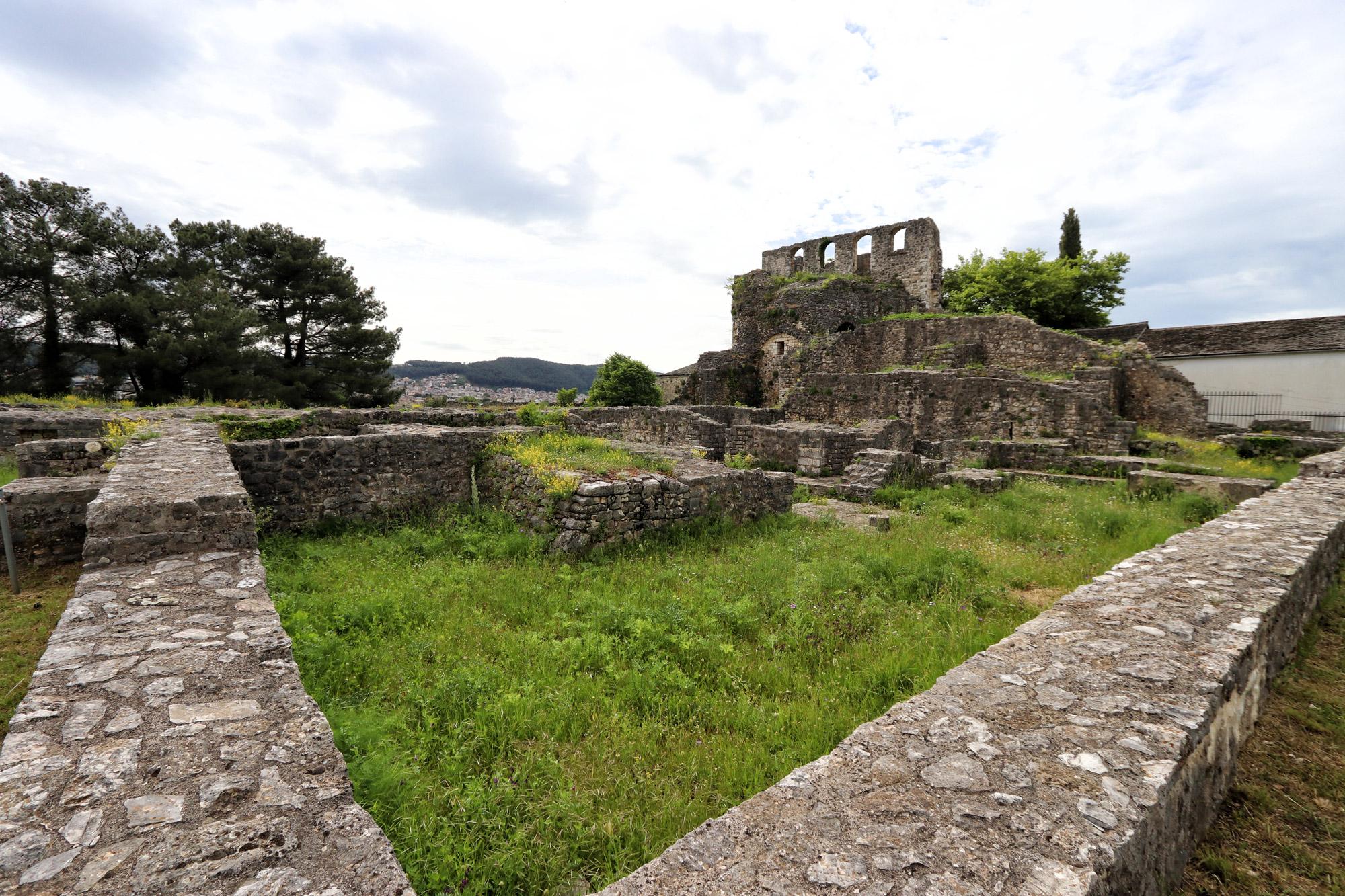 Tzoumerka - Ioannina kasteel
