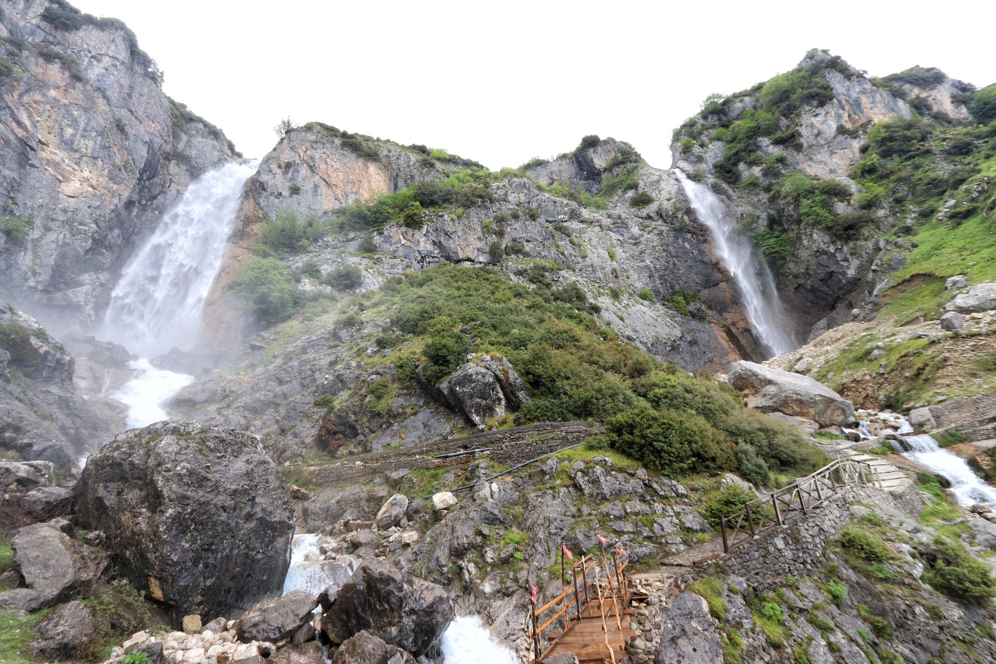Tzoumerka - Katarraktis watervallen