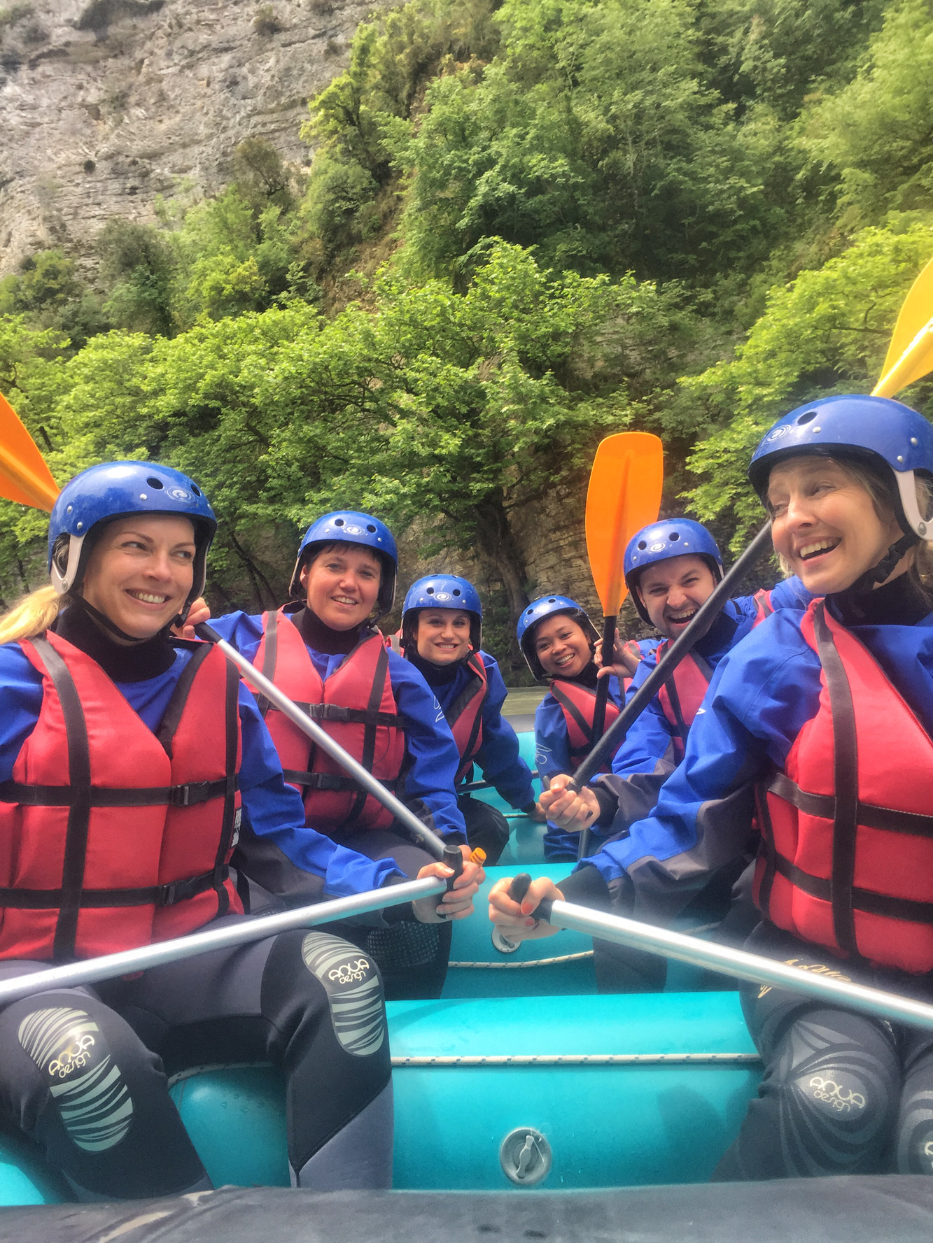 Tzoumerka - Rafting