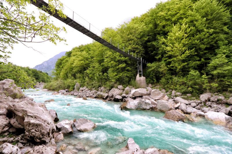 Foto van de maand: Mei 2019 - Soča rivier, Slovenië