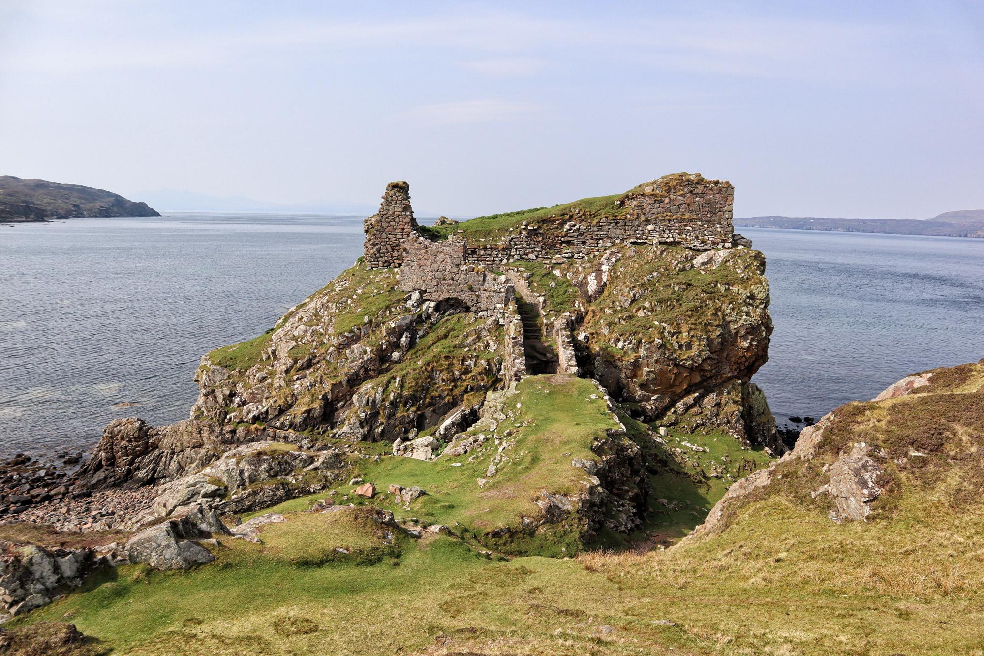 De hoogtepunten van Isle of Skye - Dunscaith Castle